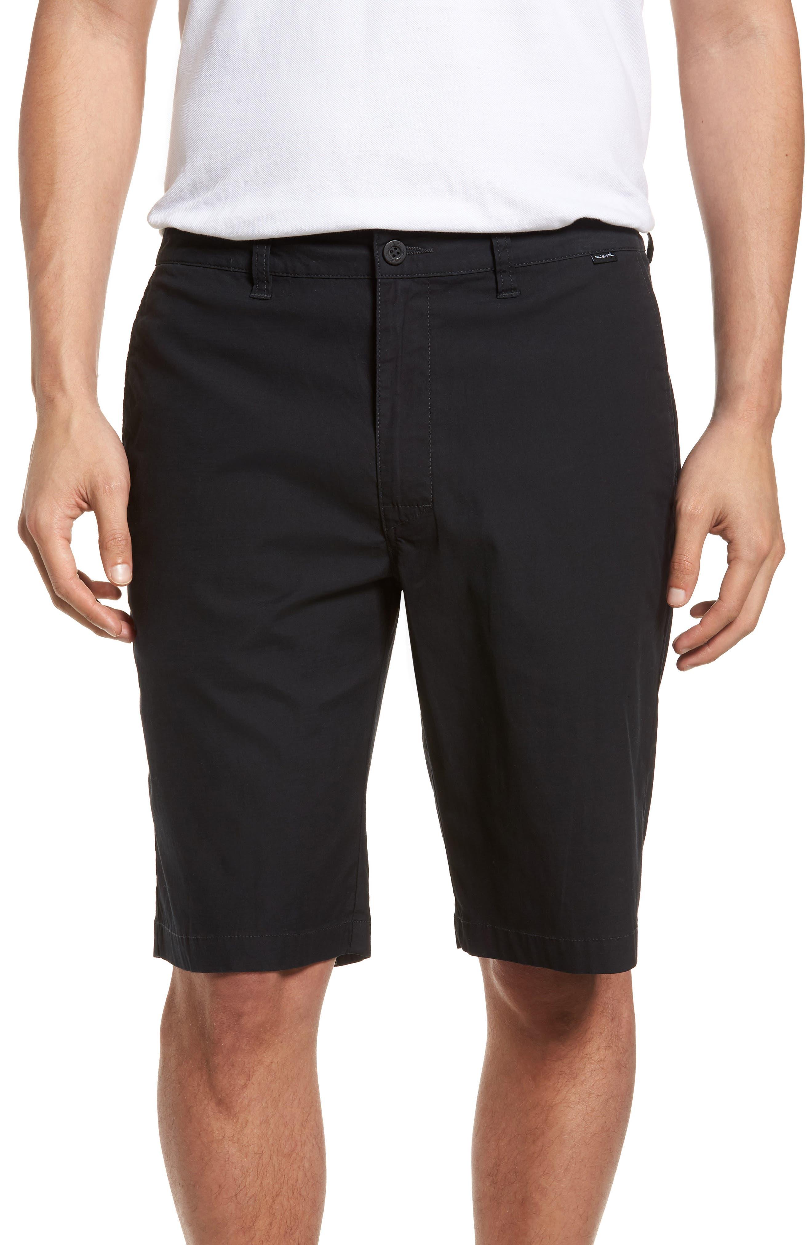 Huntington Shorts,                         Main,                         color, BLACK