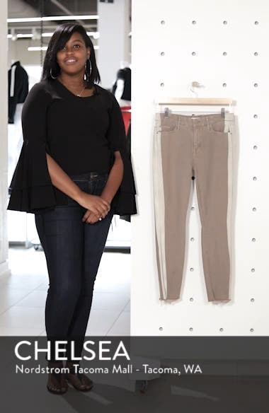 The Looker Frayed Ankle Skinny Jeans, sales video thumbnail