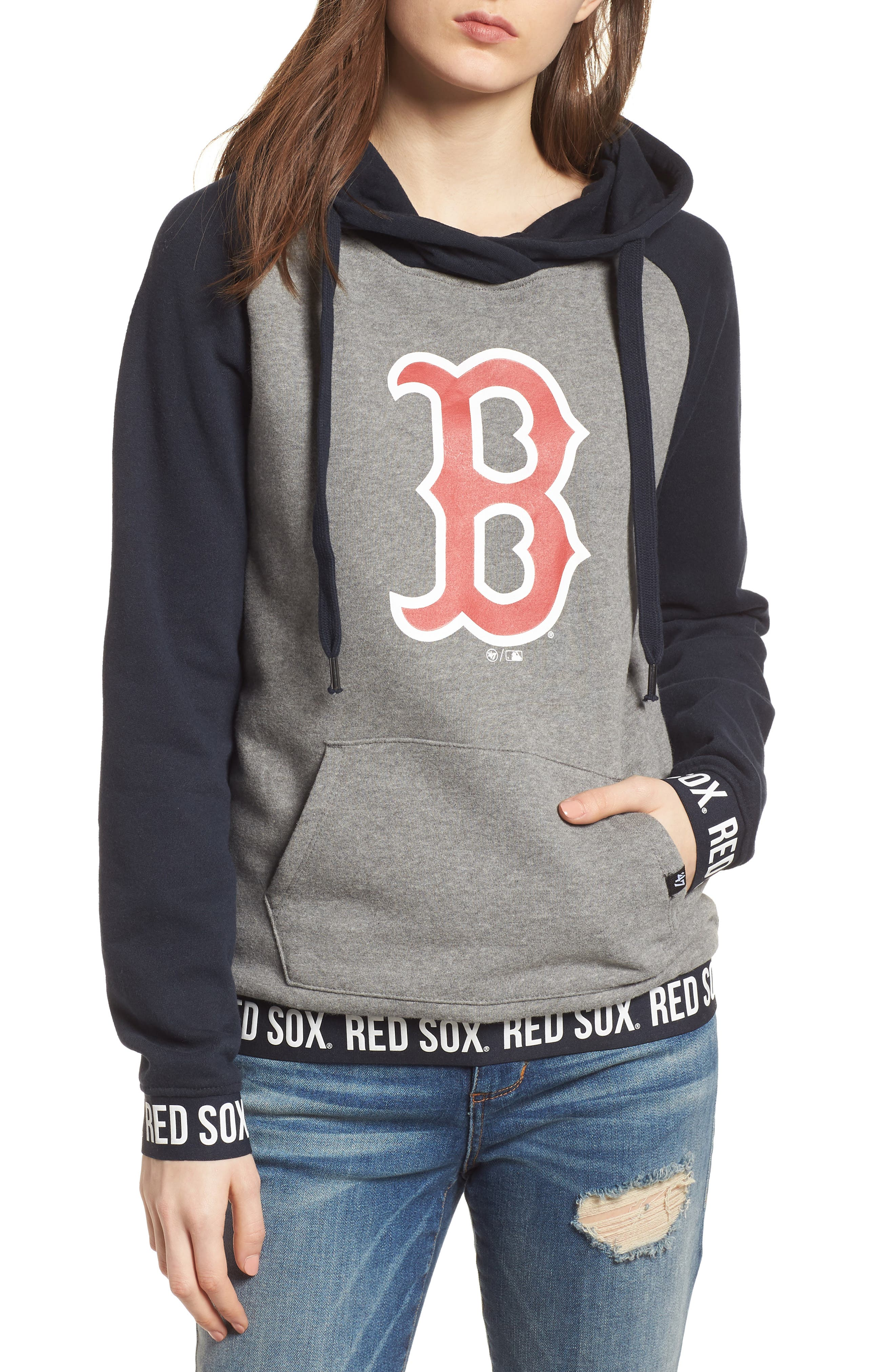 Encore Revolve Boston Red Sox Hoodie,                             Main thumbnail 1, color,                             026