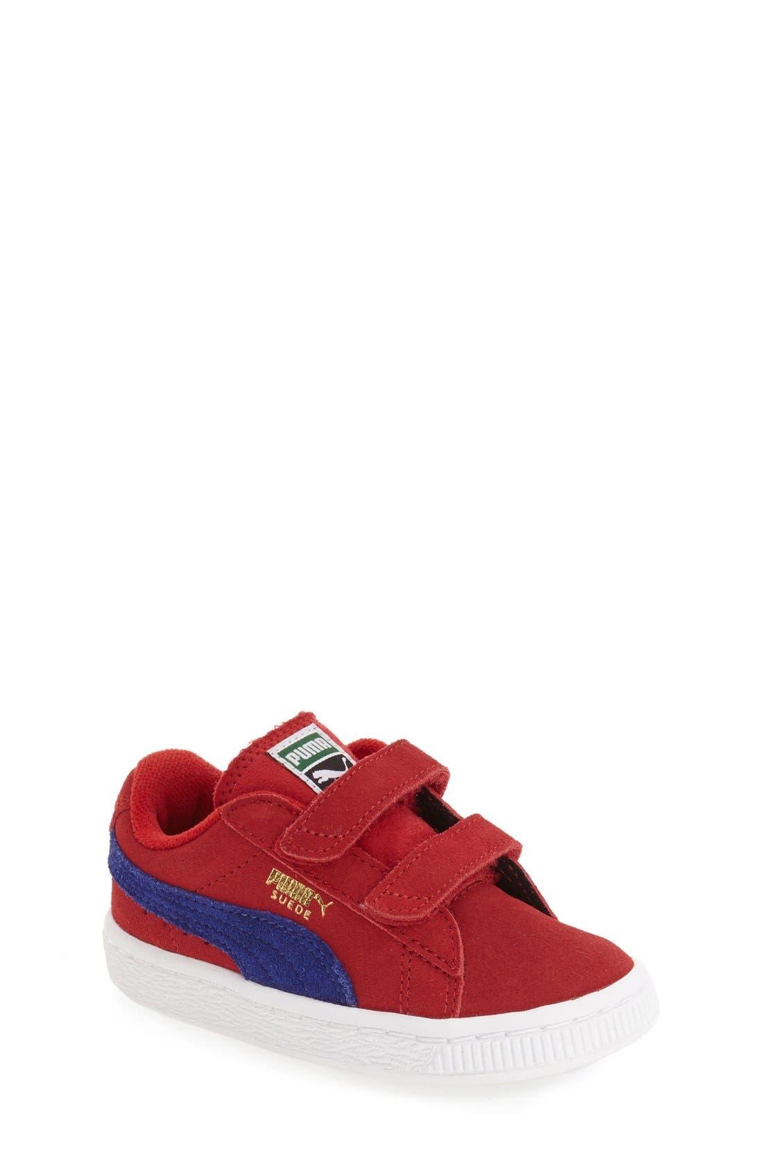 Suede Sneaker,                             Main thumbnail 7, color,