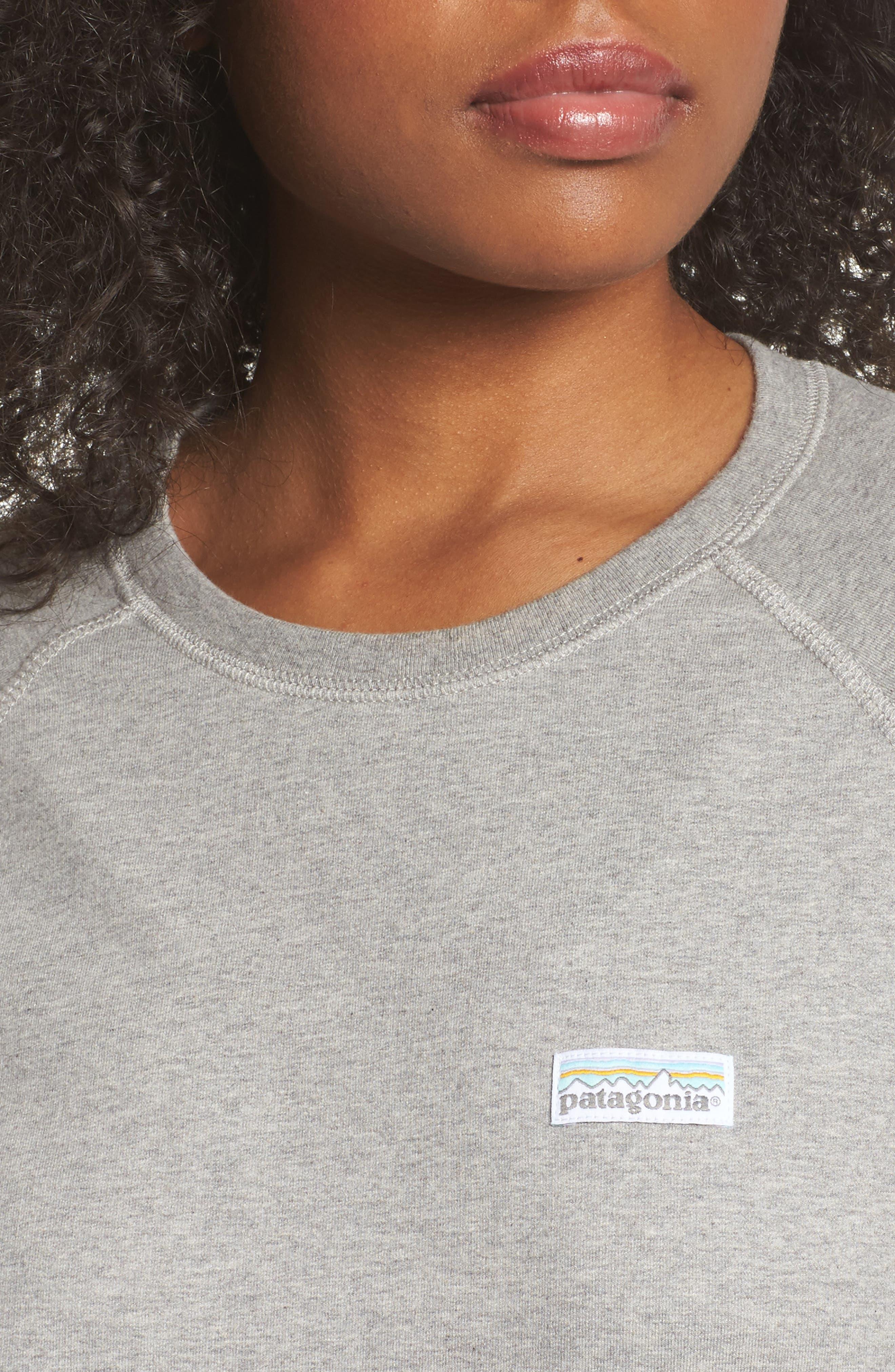 Pastel P-6 Label Midweight Sweatshirt,                             Alternate thumbnail 4, color,                             020