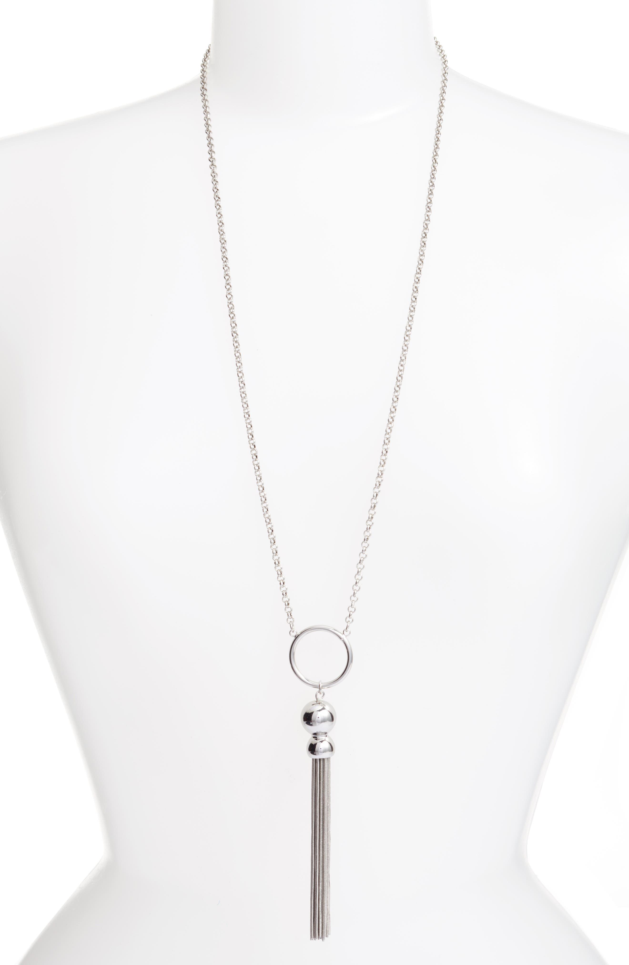 Pendant Necklace,                         Main,                         color, 040