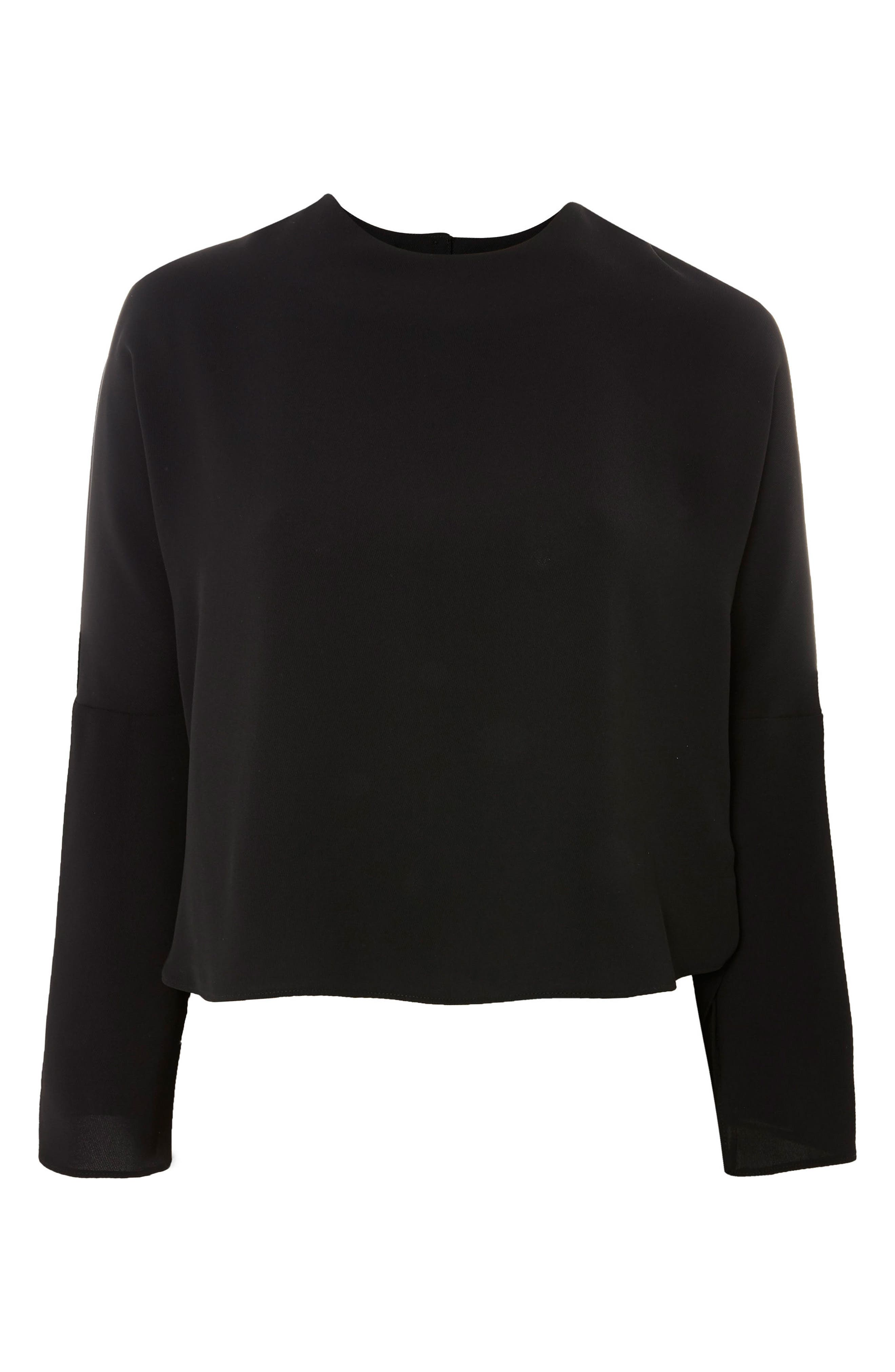 Split Sleeve Top,                             Alternate thumbnail 7, color,