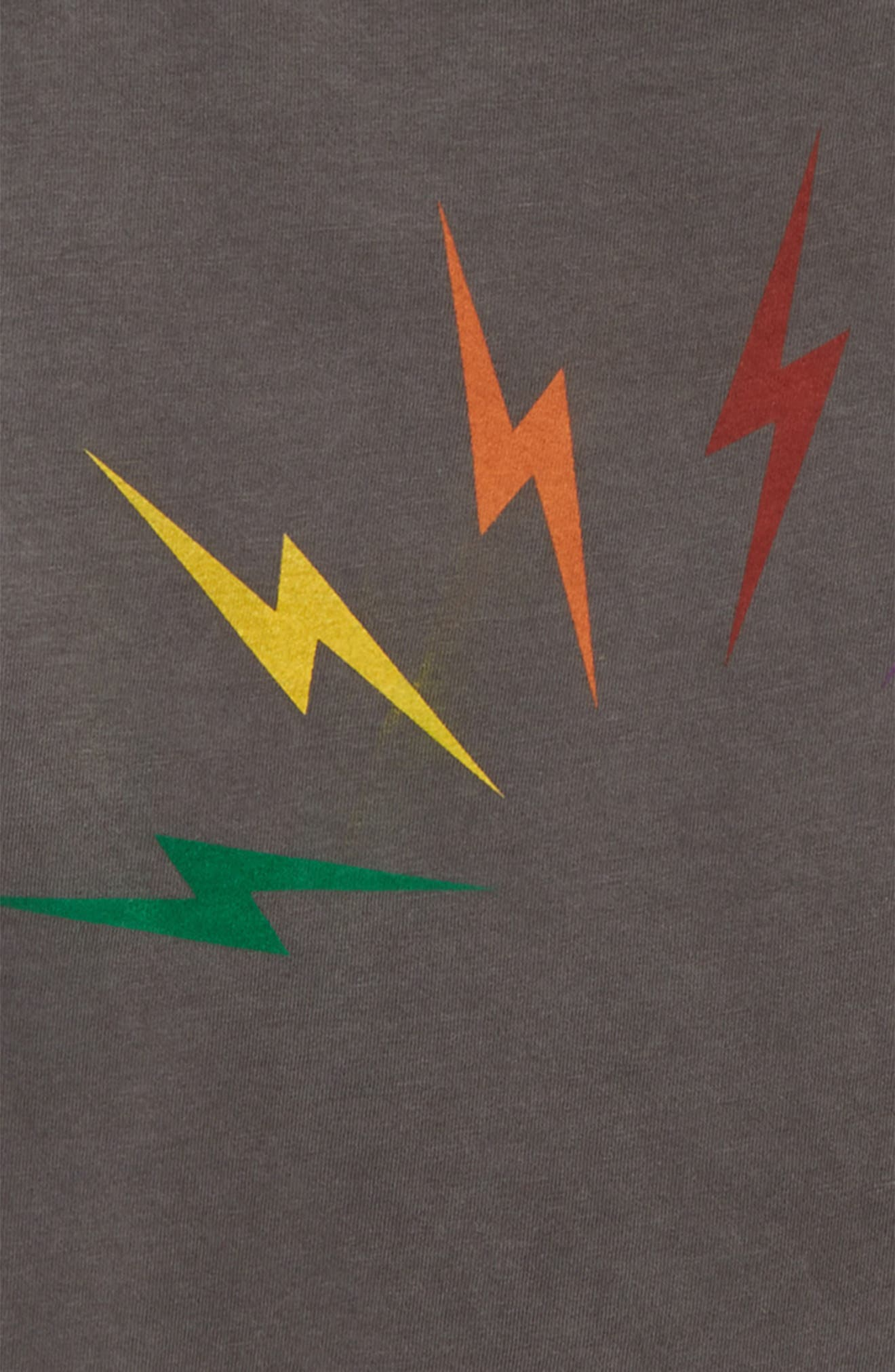 Bolt Rainbow Tee,                             Alternate thumbnail 2, color,