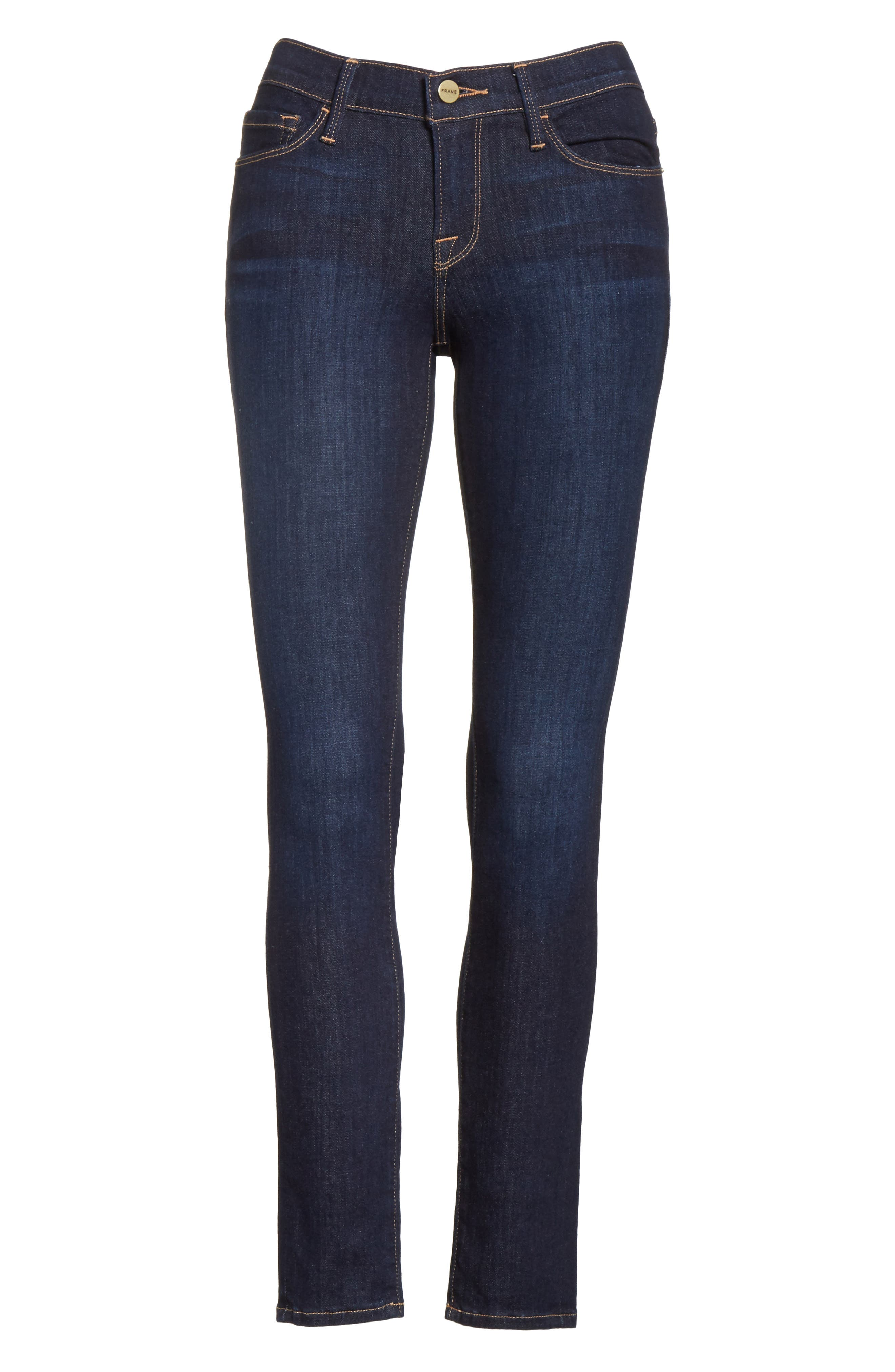 Le Skinny de Jeanne Jeans,                             Alternate thumbnail 6, color,                             DAME