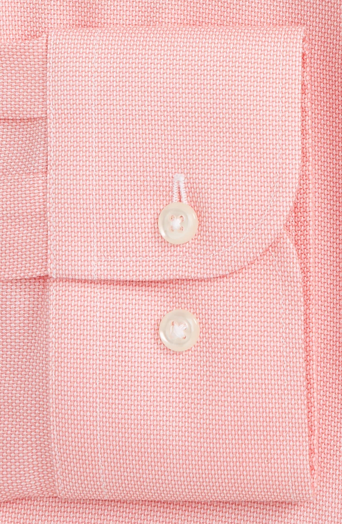 Smartcare<sup>™</sup> Trim Fit Oxford Dress Shirt,                             Alternate thumbnail 10, color,