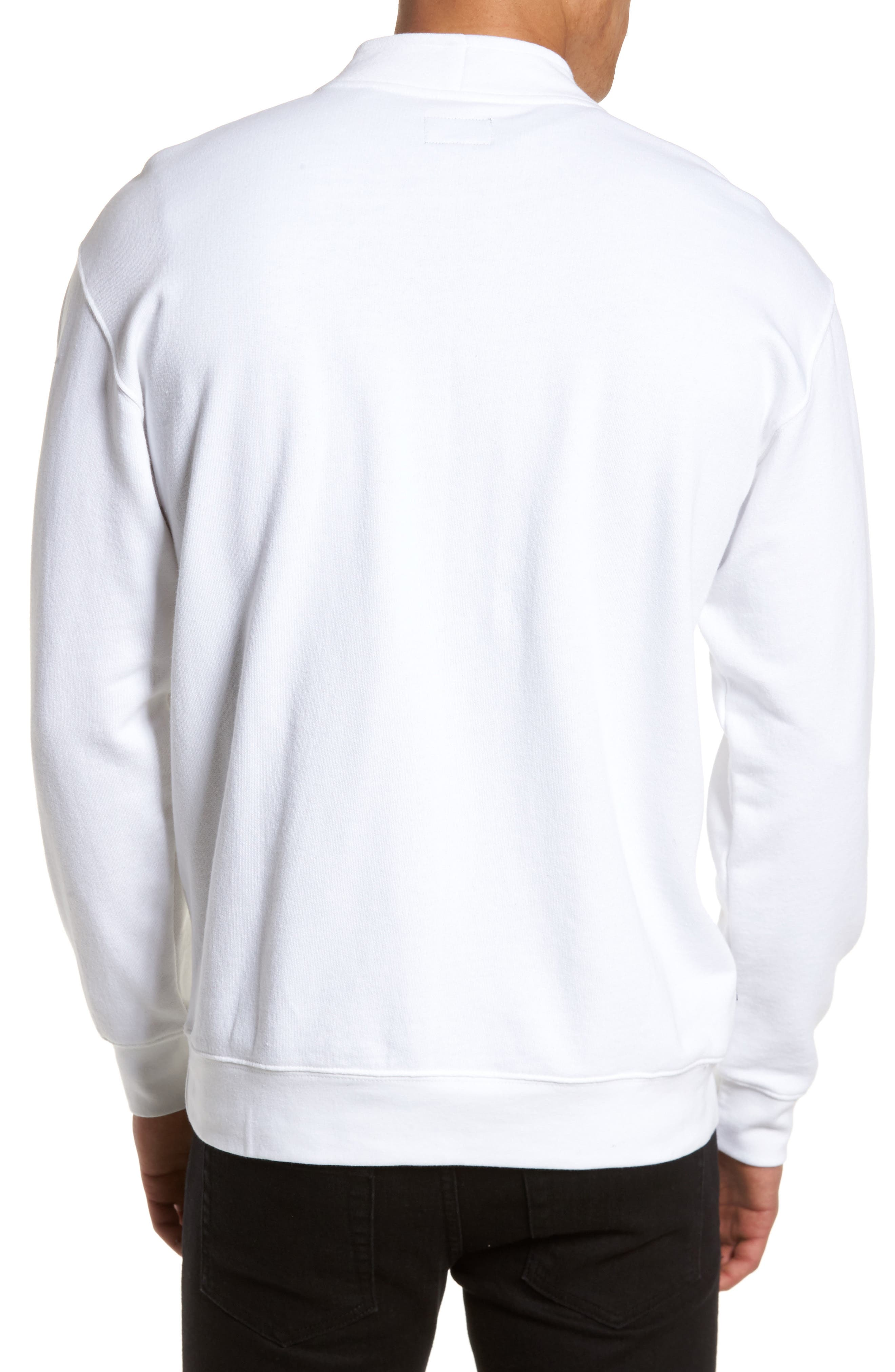Atomatic Quarter-Zip Fleece Pullover,                             Alternate thumbnail 2, color,                             100