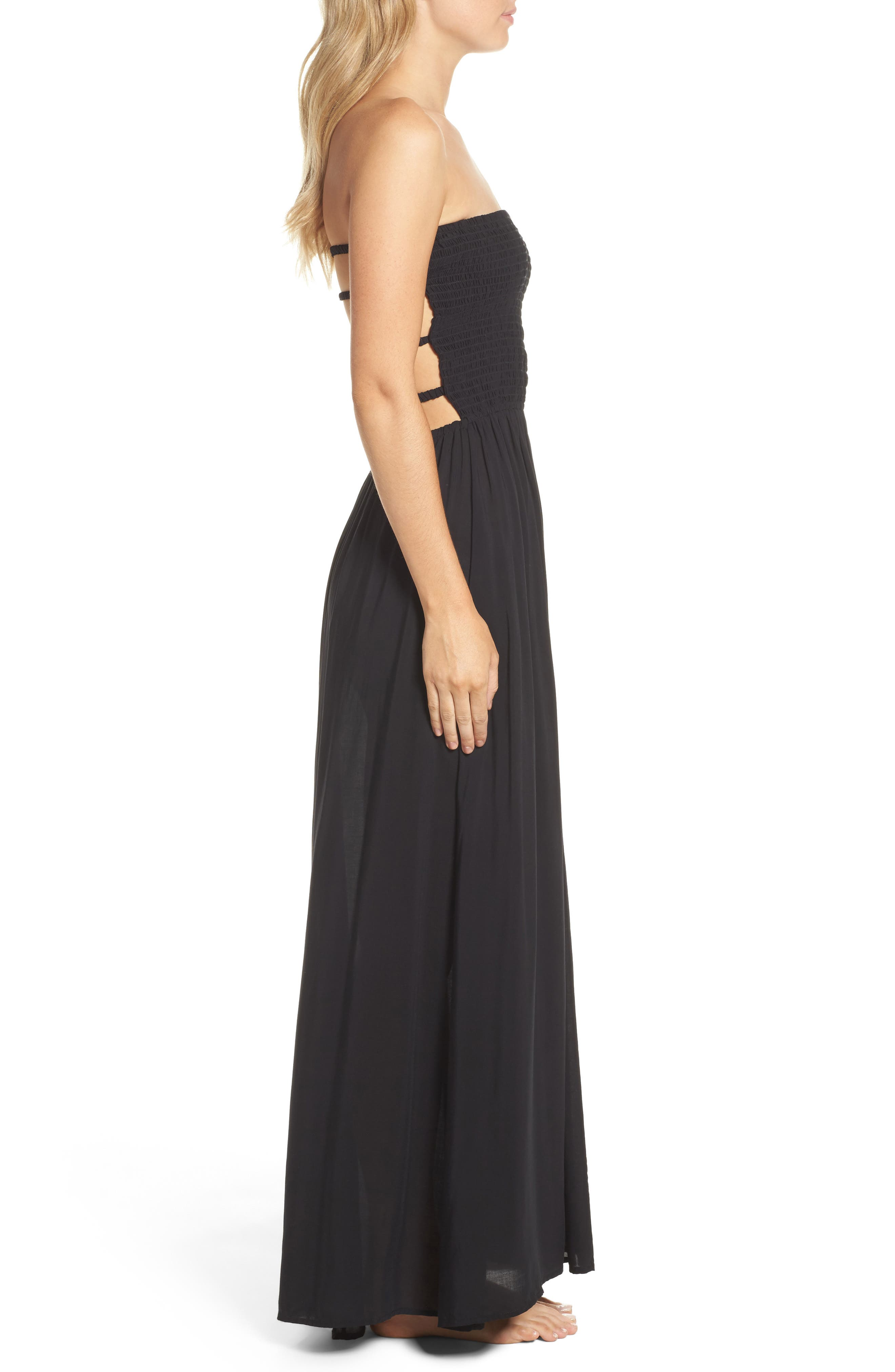 Swimwear Maxi Cover-Up,                             Alternate thumbnail 5, color,