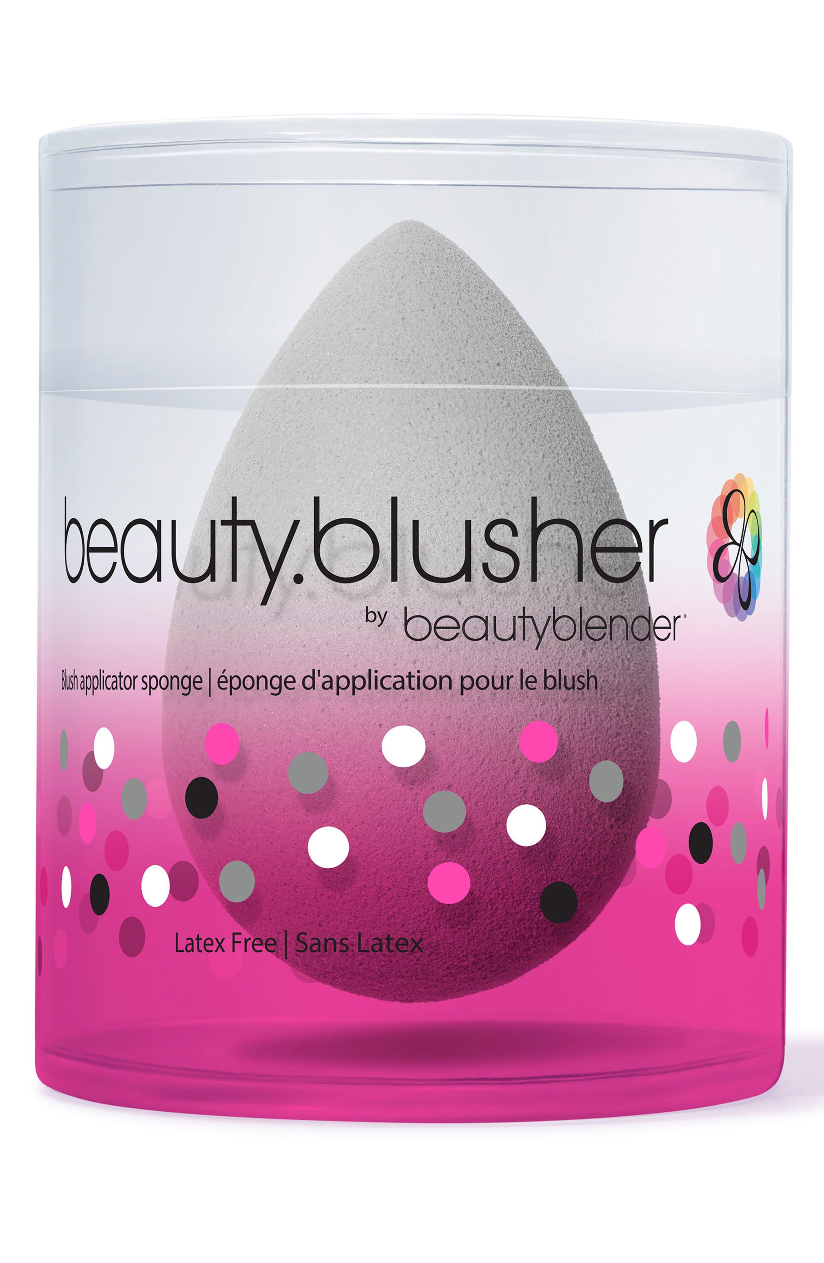 'beauty.blusher' Makeup Sponge Applicator,                             Alternate thumbnail 3, color,