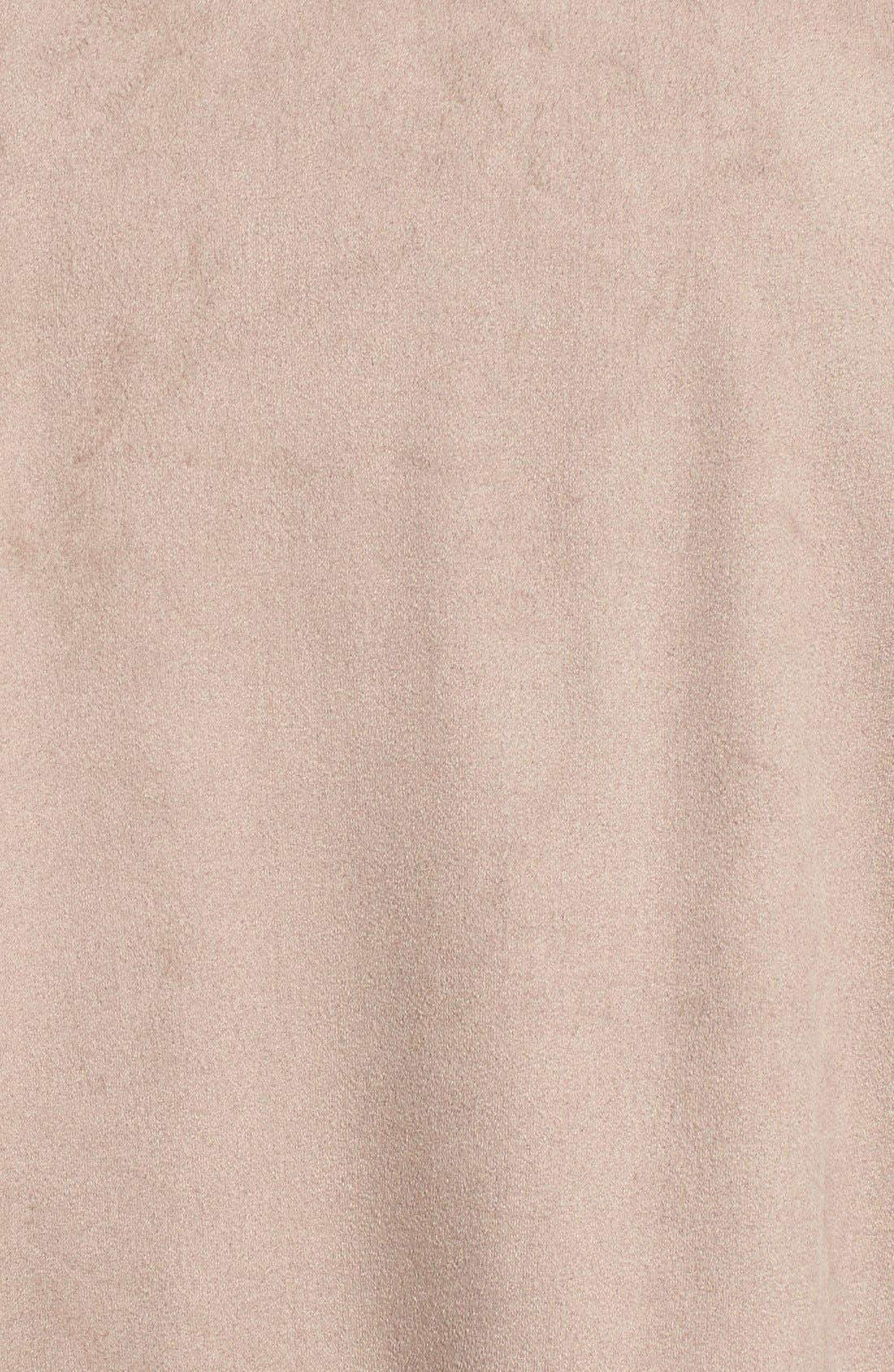 Faux Suede Vest,                             Alternate thumbnail 2, color,                             200