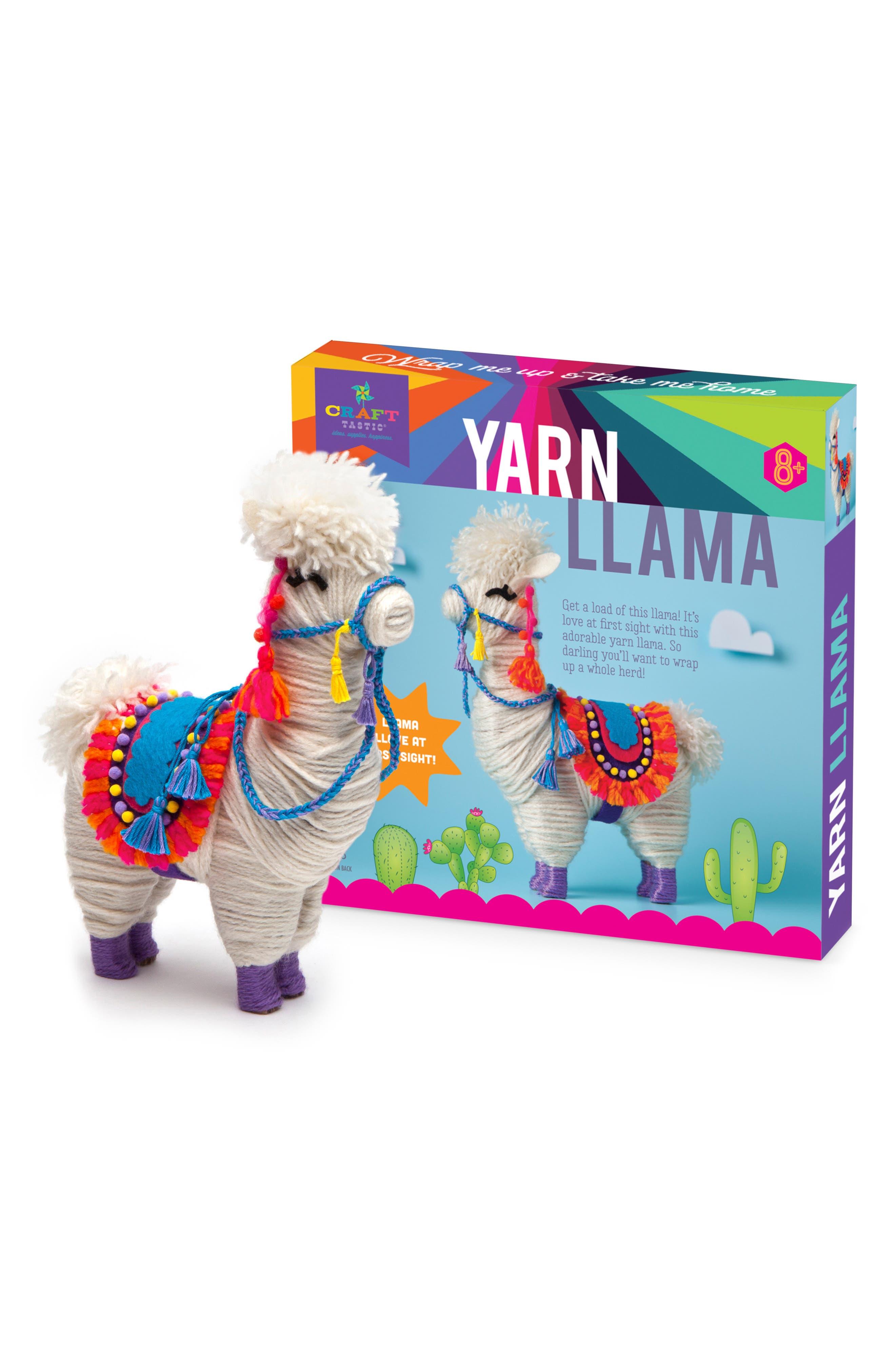 CRAFT-TASTIC,                             Yarn Llama Craft Kit,                             Alternate thumbnail 3, color,                             960