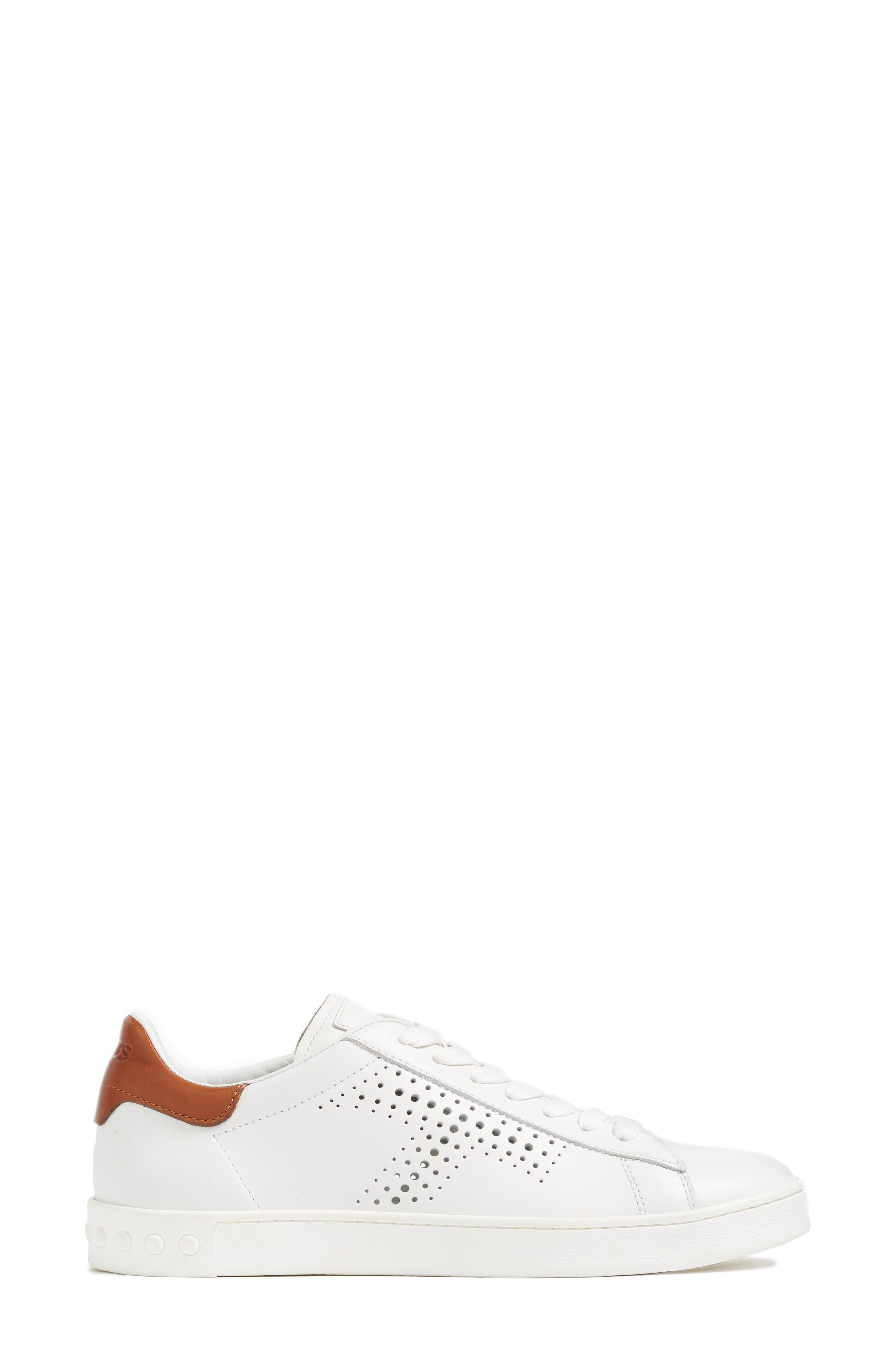 Perforated T Sneaker,                             Alternate thumbnail 3, color,                             100