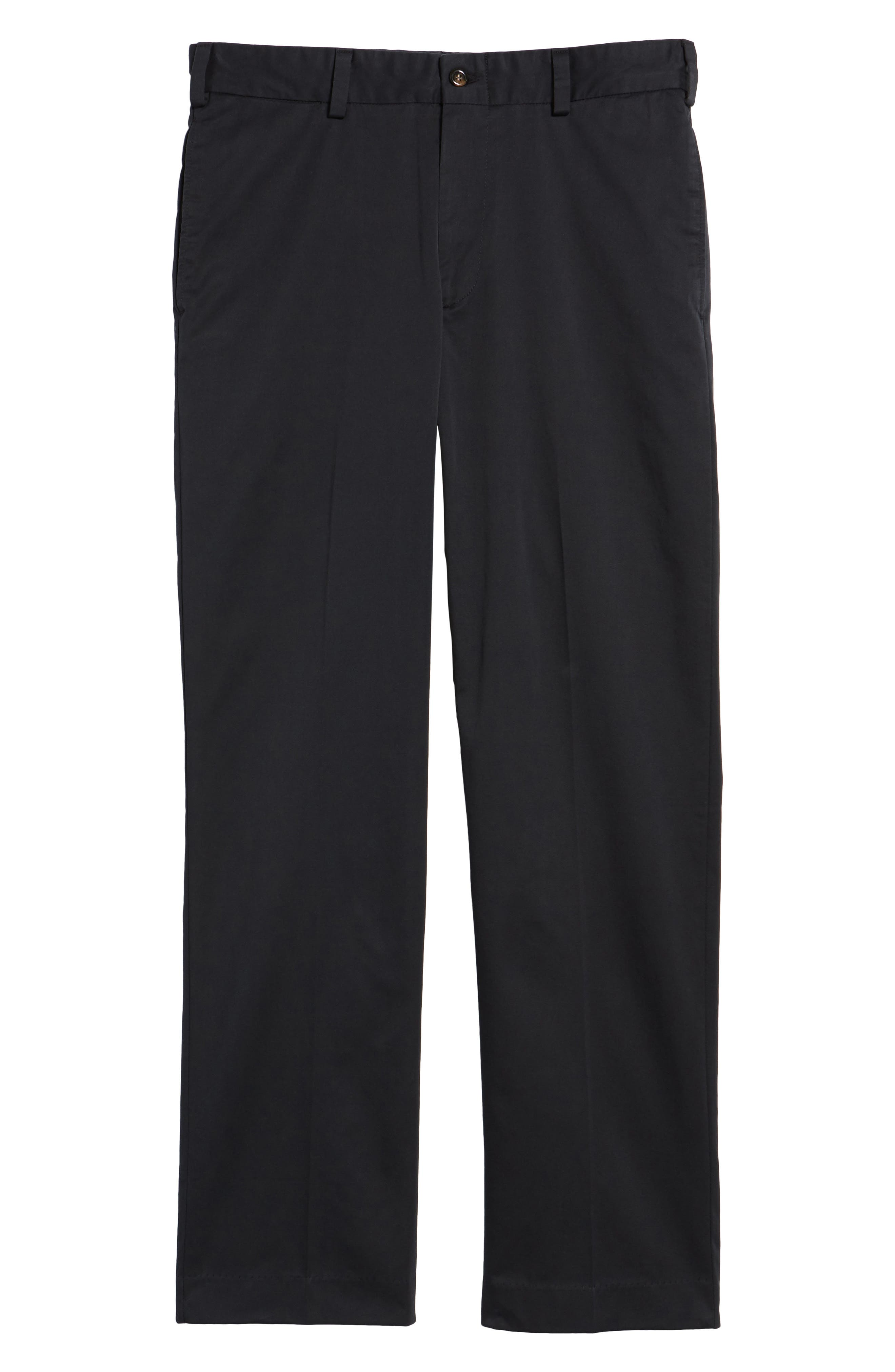 Classic Fit Chamois Cloth Pants,                             Alternate thumbnail 6, color,                             BLACK