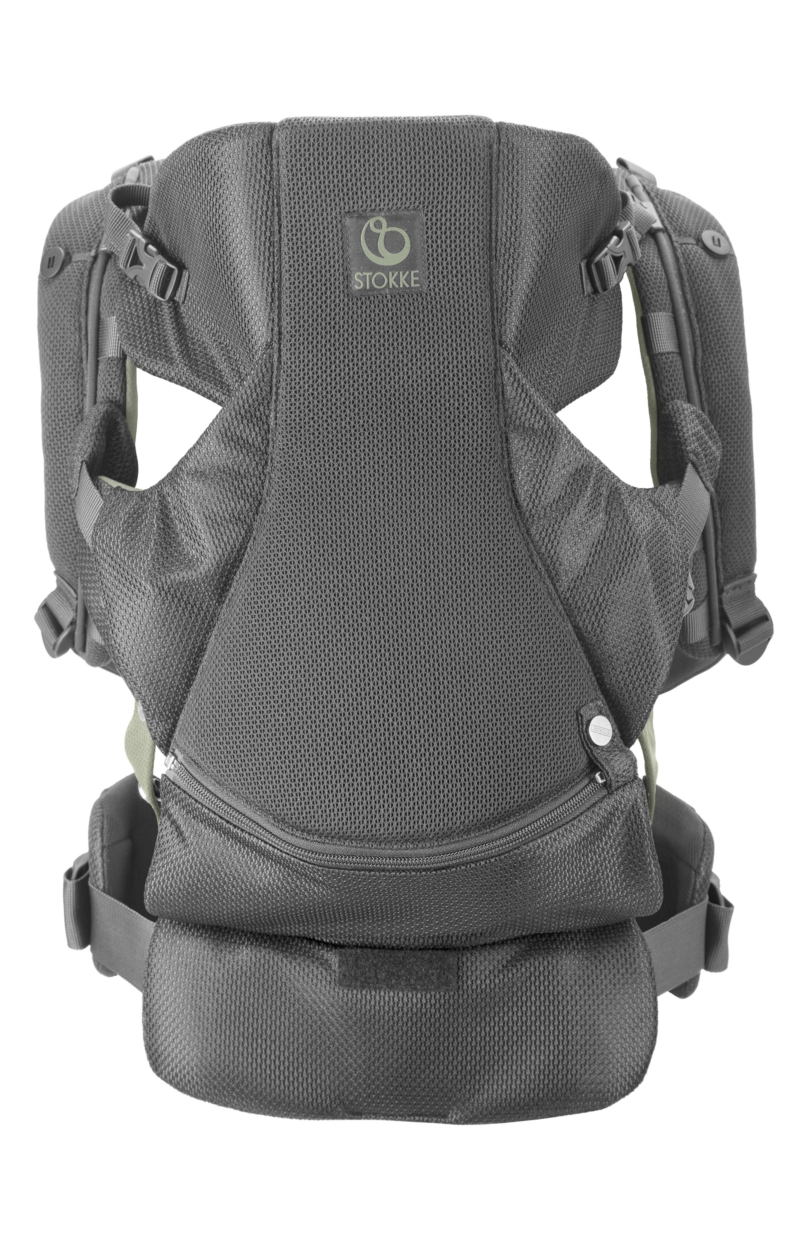 MyCarrier<sup>™</sup> Front Baby Carrier,                             Alternate thumbnail 2, color,                             GREEN MESH