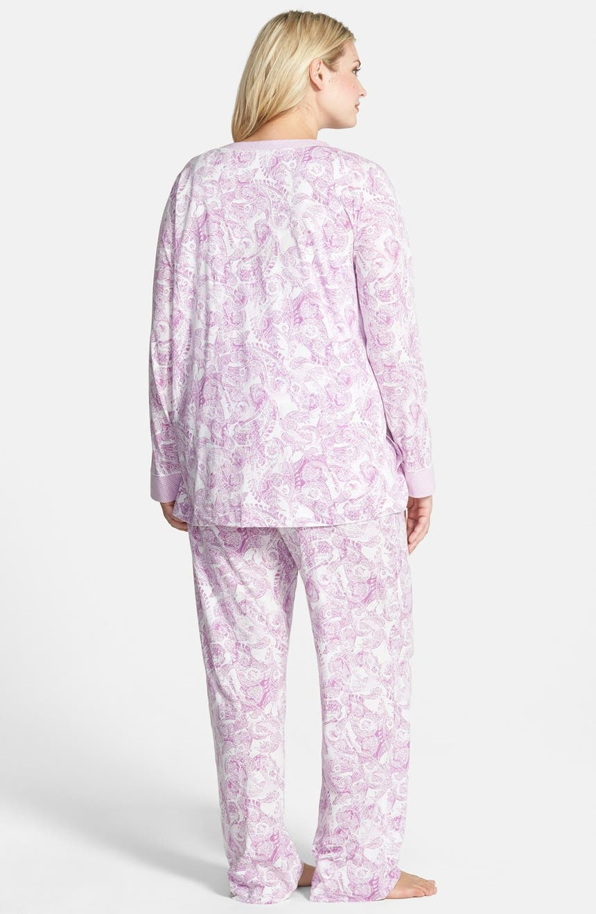 21628f5baaead Carole Hochman Designs  Cozy Morning  3-Piece Pajamas (Plus Size ...