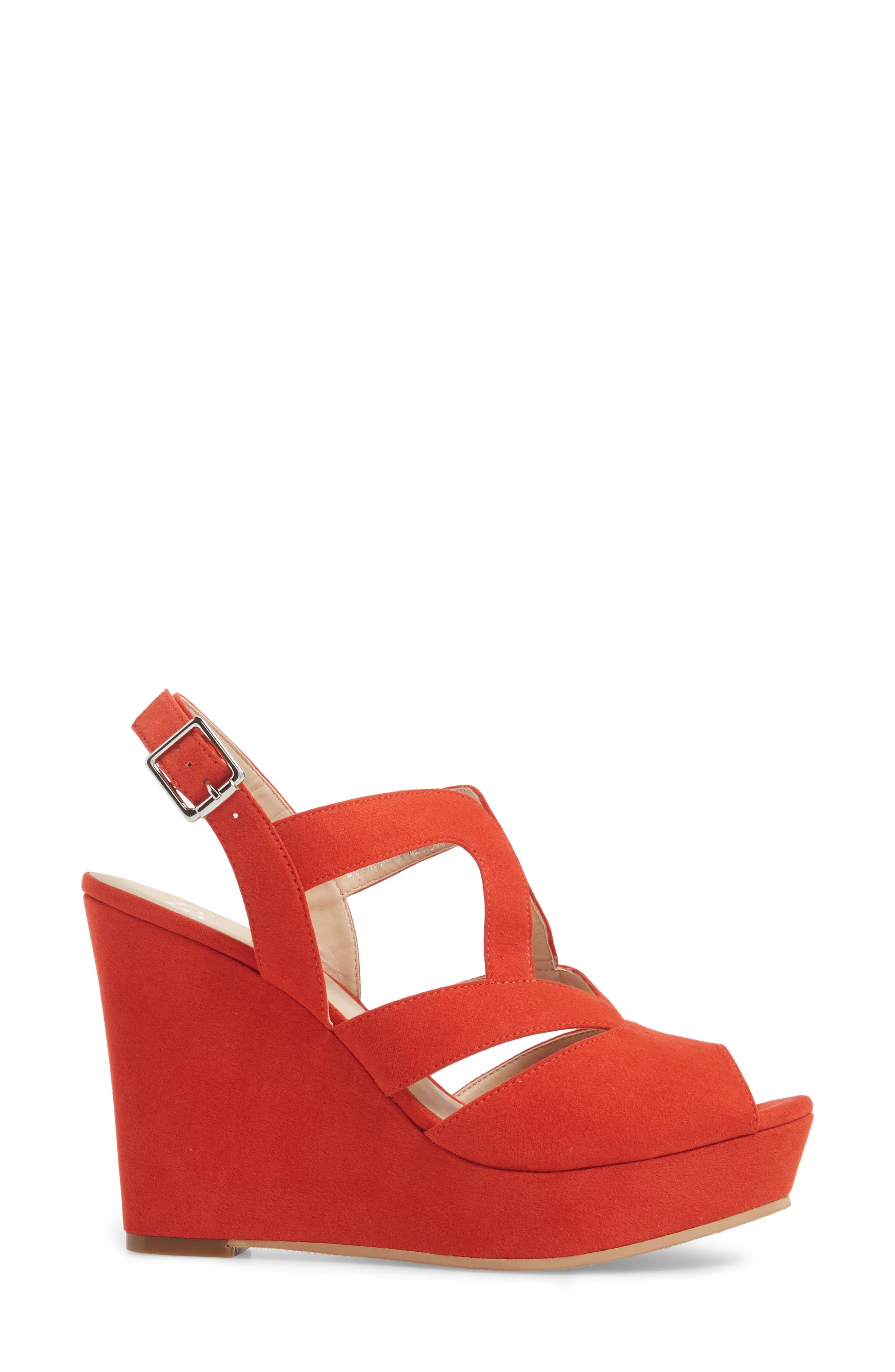 Sunny Platform Wedge Sandal,                             Alternate thumbnail 18, color,
