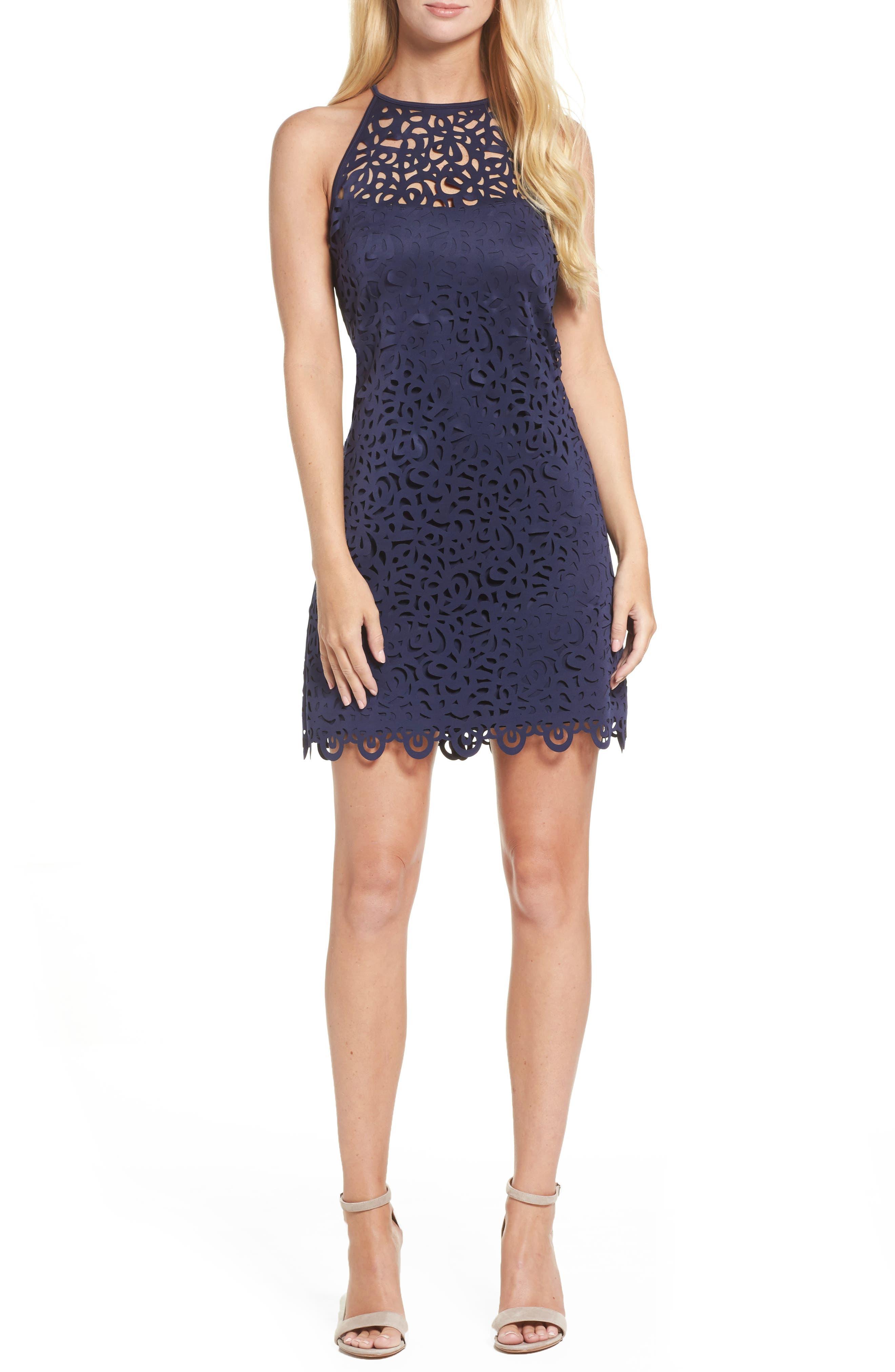 Pearl Shift Dress,                             Main thumbnail 1, color,                             408