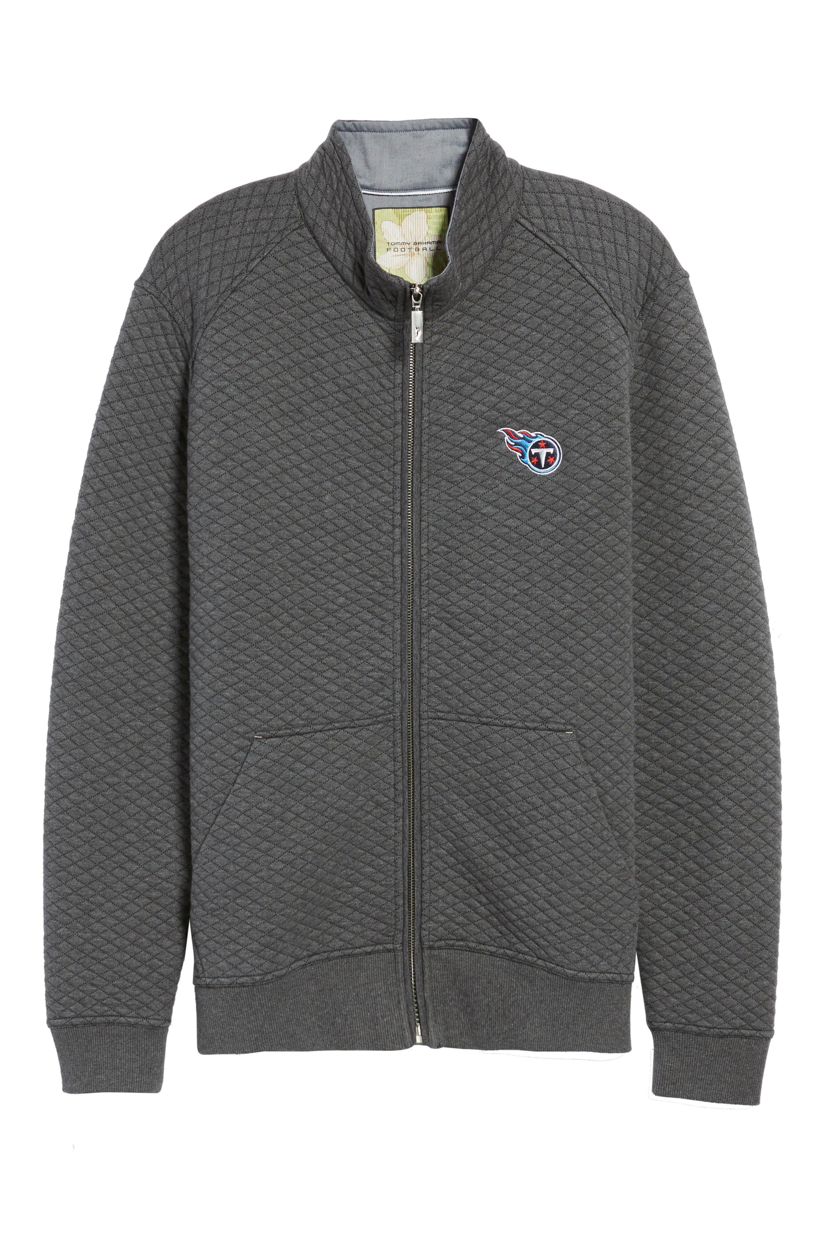 NFL Quiltessential Full Zip Sweatshirt,                             Alternate thumbnail 185, color,
