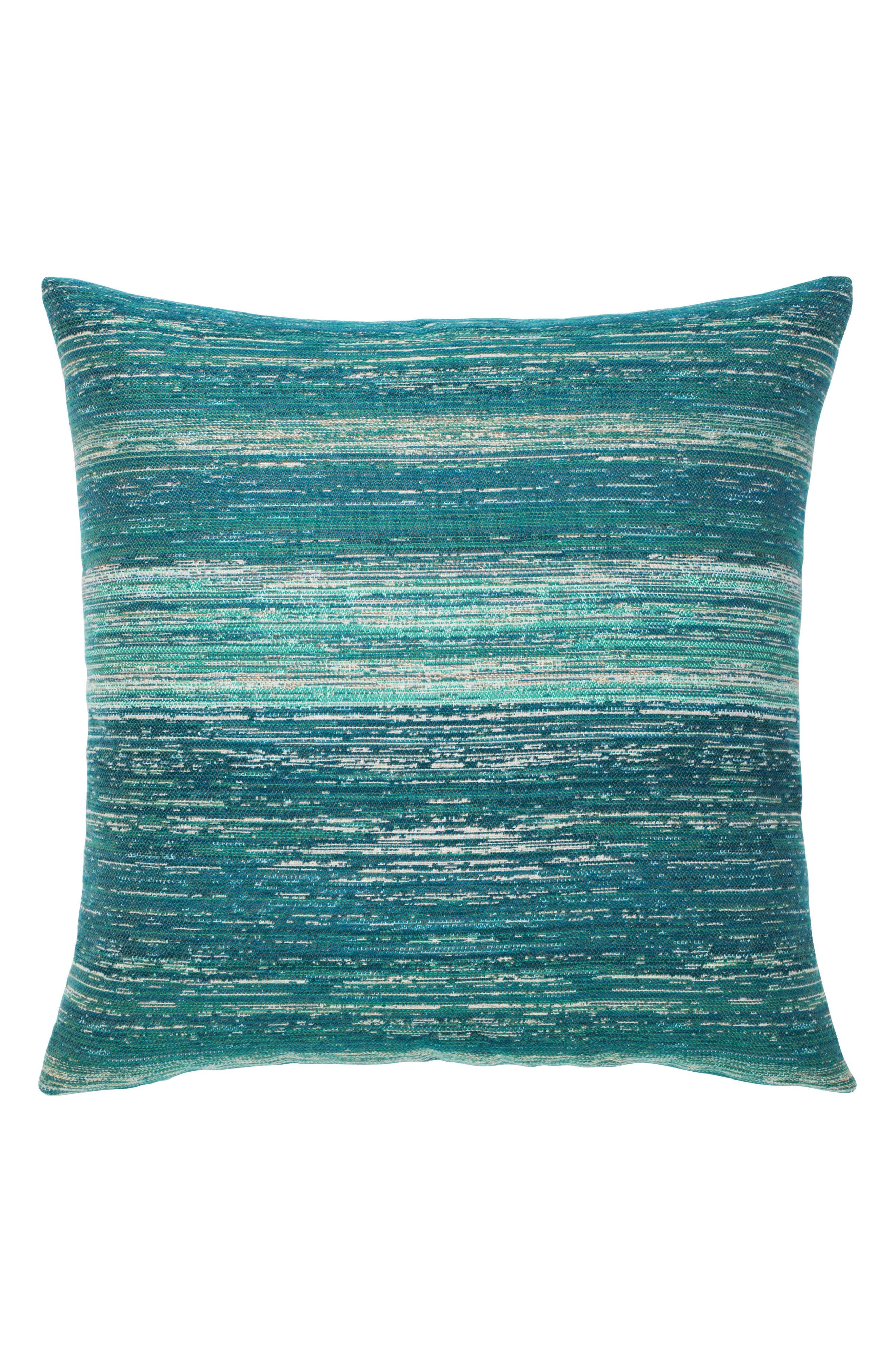 Texture Lagoon Accent Pillow,                             Main thumbnail 1, color,                             BLUE