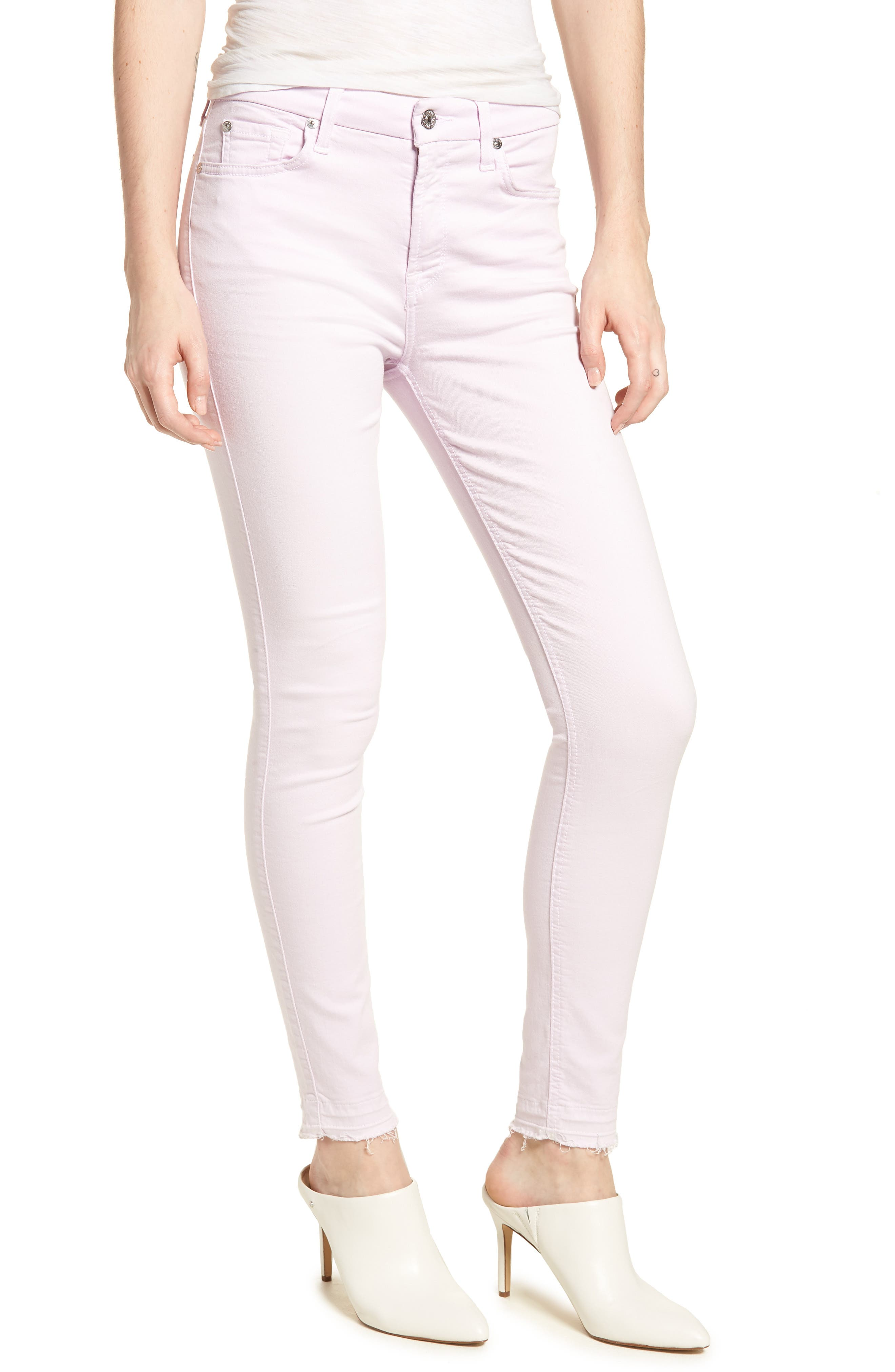 Released Hem Ankle Skinny Jeans,                             Main thumbnail 2, color,