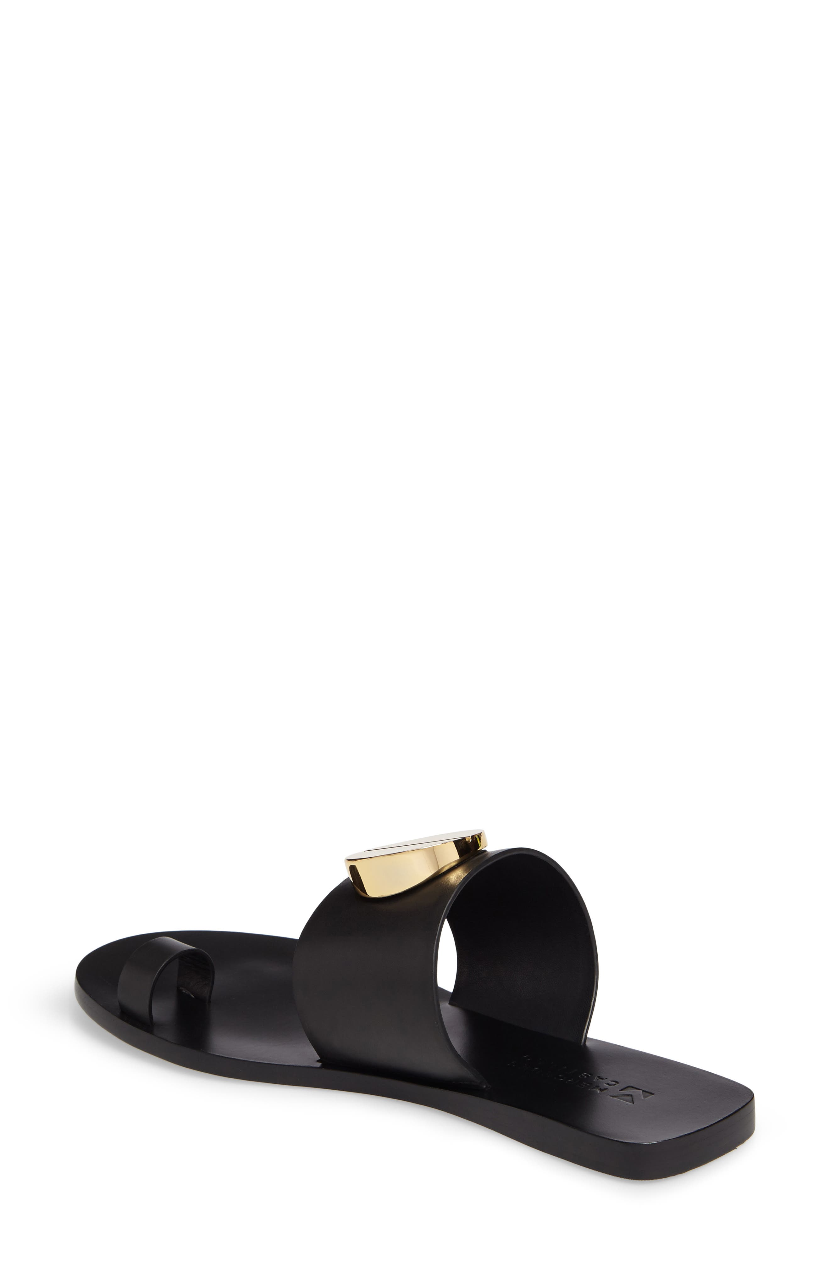 Fallon Toe-Loop Sandal,                             Alternate thumbnail 3, color,