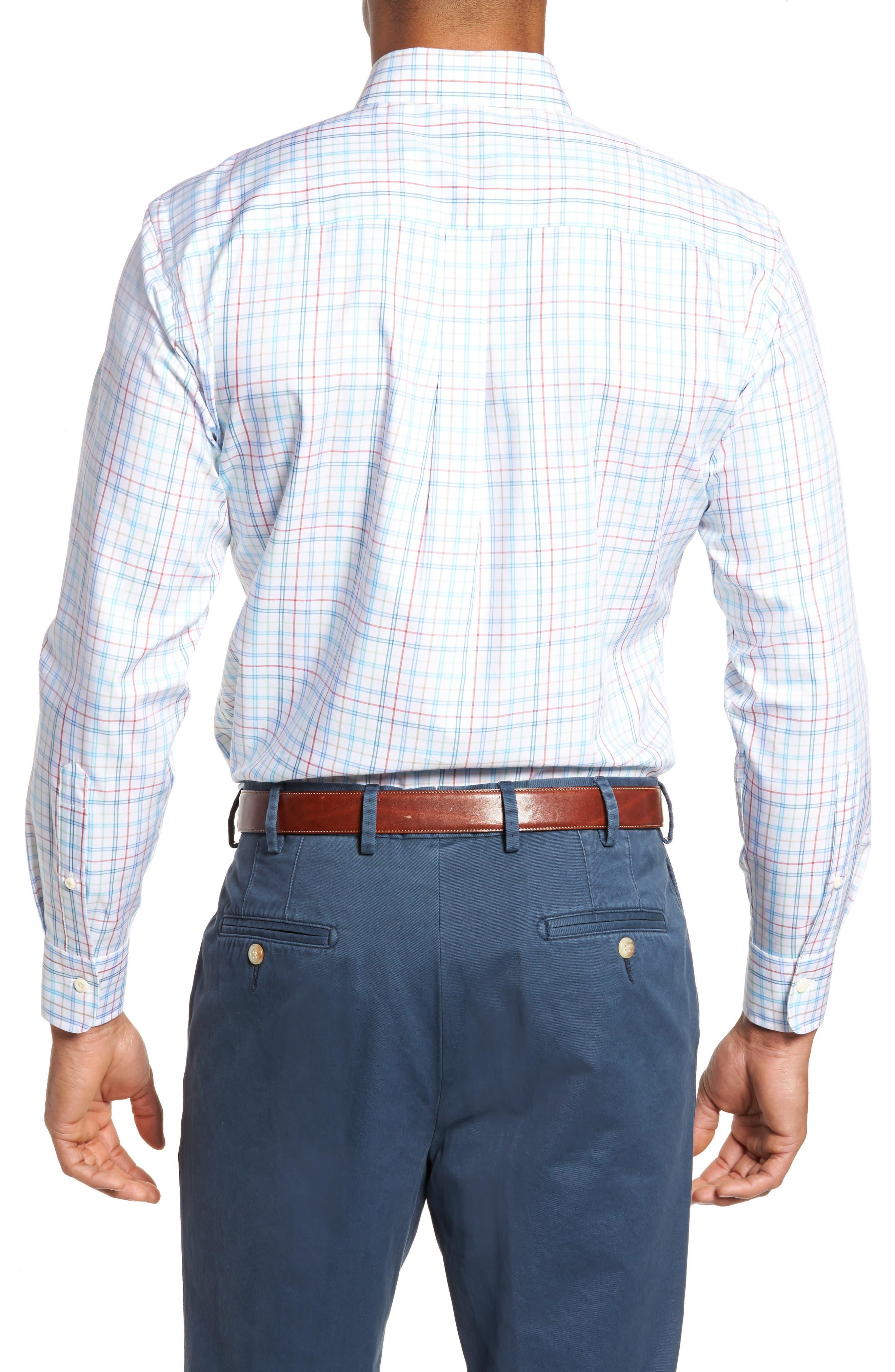 Classic Fit Crown Soft Honolulu Pinwheel Sport Shirt,                             Alternate thumbnail 2, color,                             497