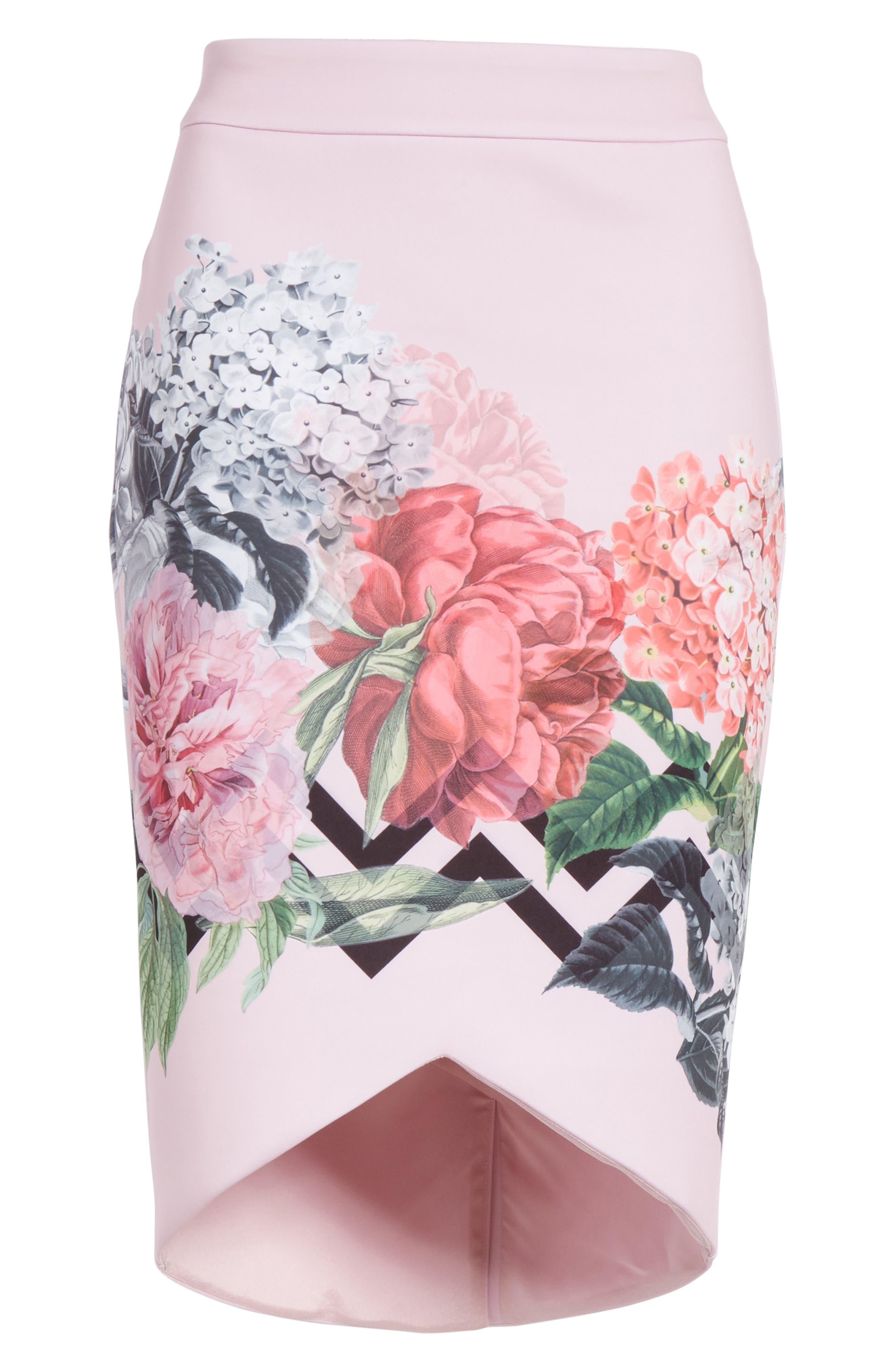 Soella Pencil Skirt,                             Alternate thumbnail 6, color,                             680