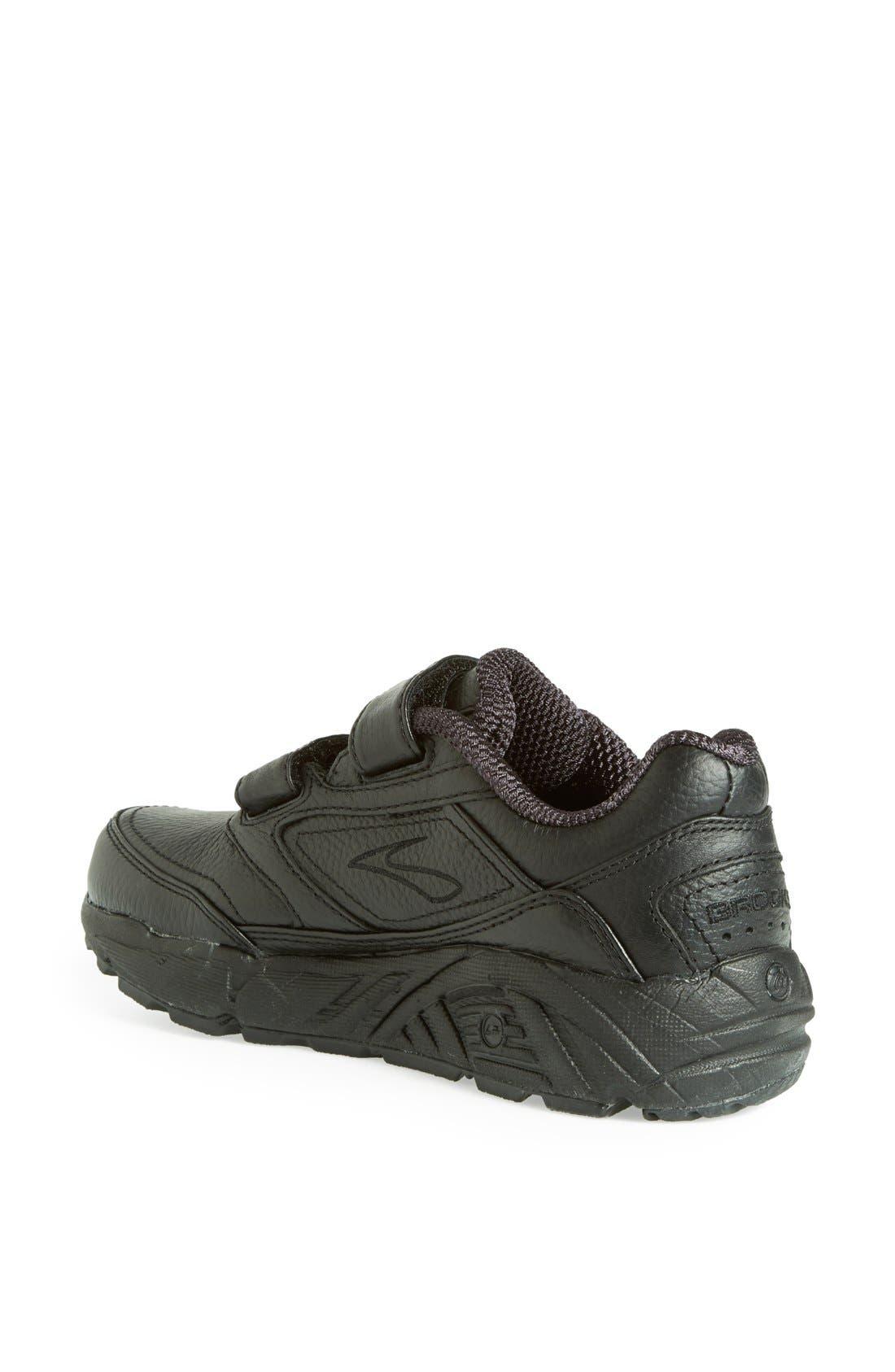 'Addiction' Walking Shoe,                             Alternate thumbnail 2, color,                             BLACK