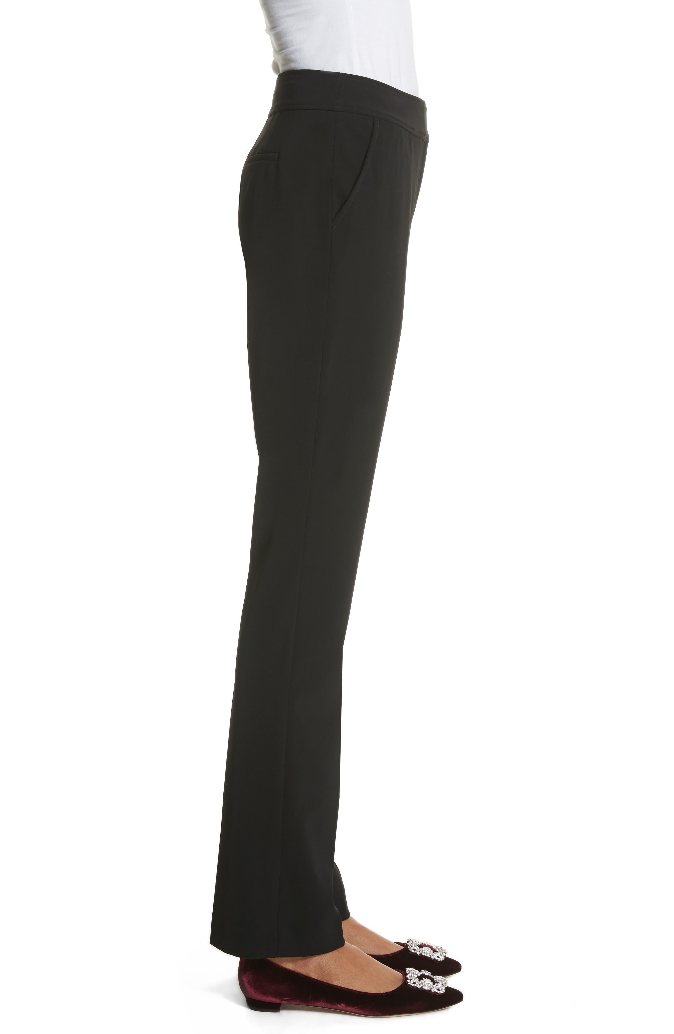 Yulit High Waist Trousers,                             Alternate thumbnail 3, color,                             001