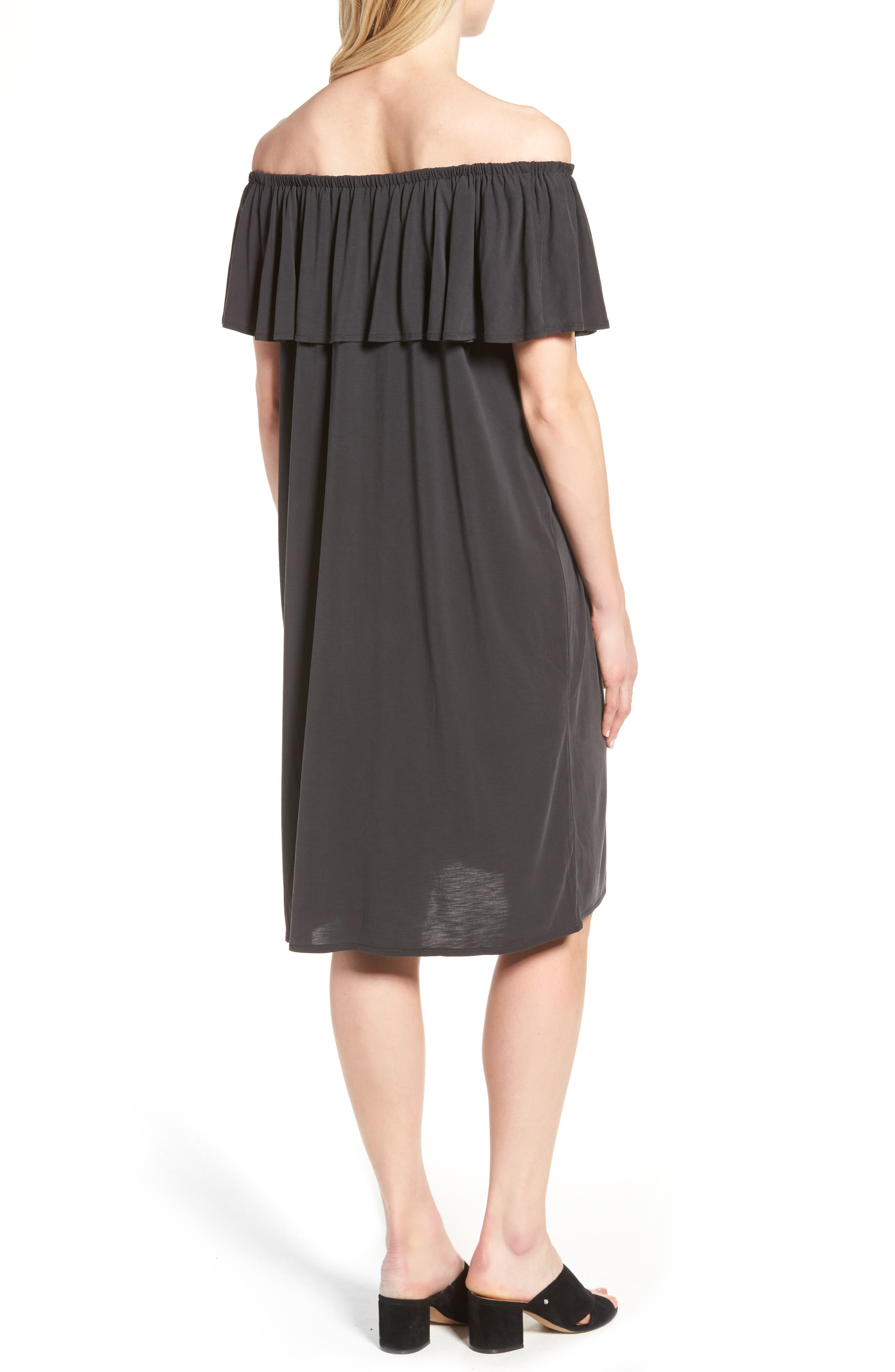 Boardwalk Convertible Jersey Dress,                             Alternate thumbnail 2, color,                             006