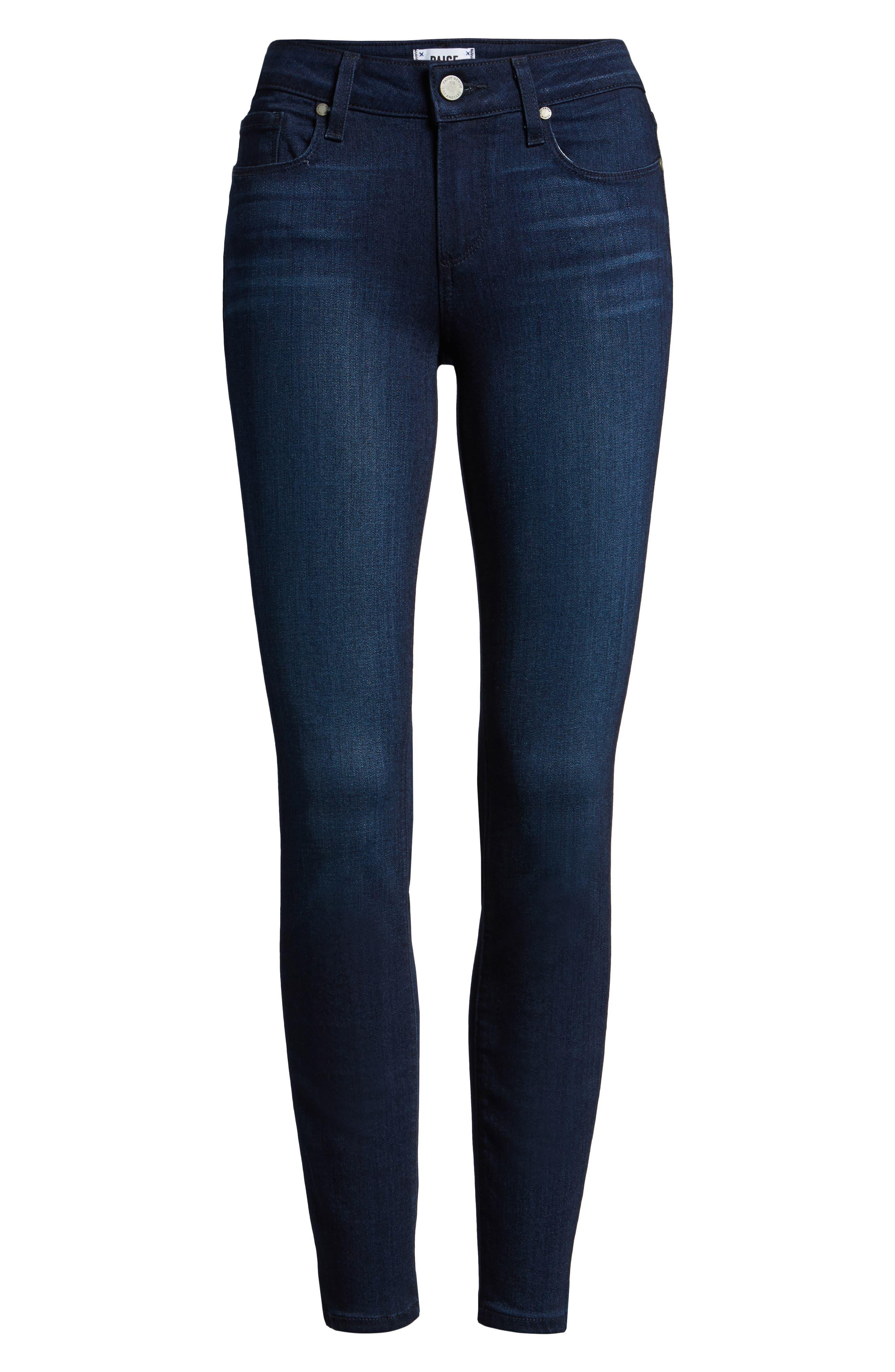 Verdugo Ankle Skinny Jeans,                             Alternate thumbnail 6, color,                             400