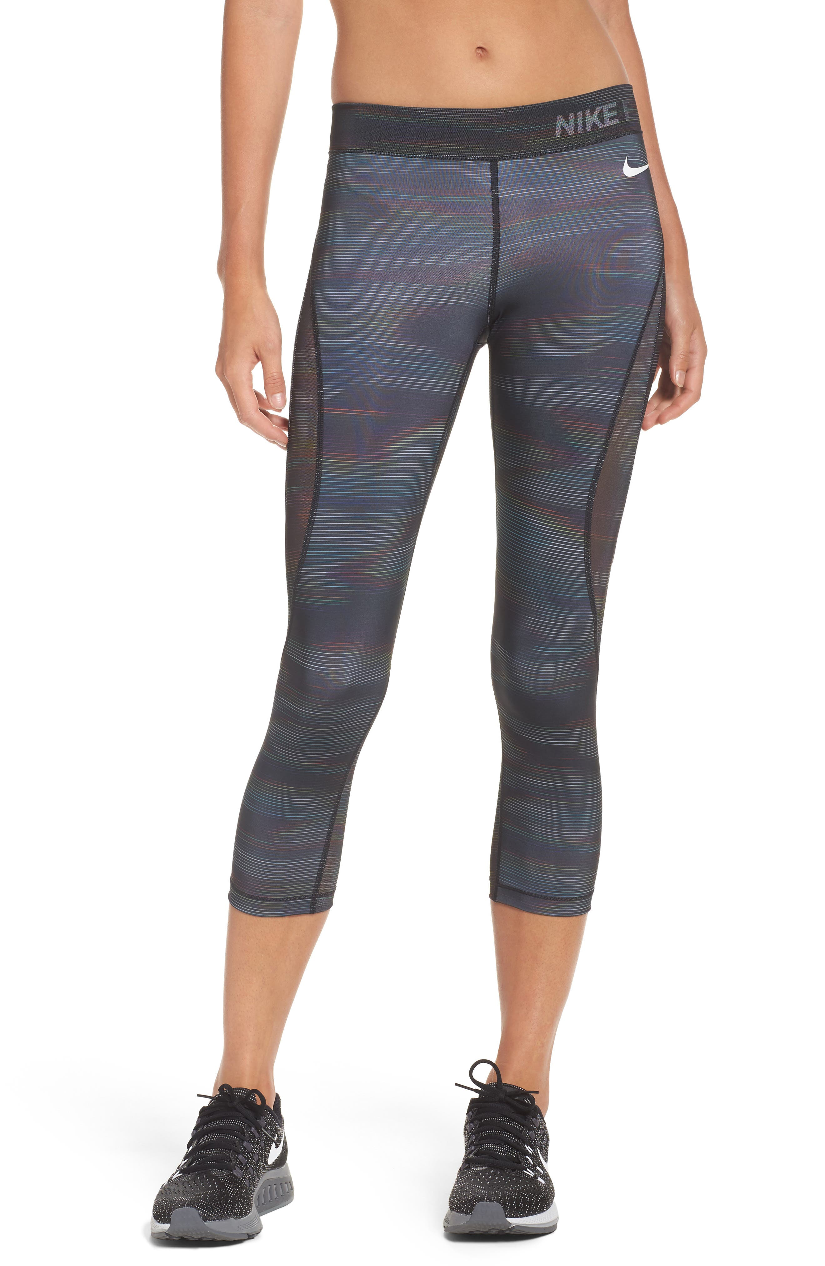 Pro HyperCool Capri Leggings,                         Main,                         color,