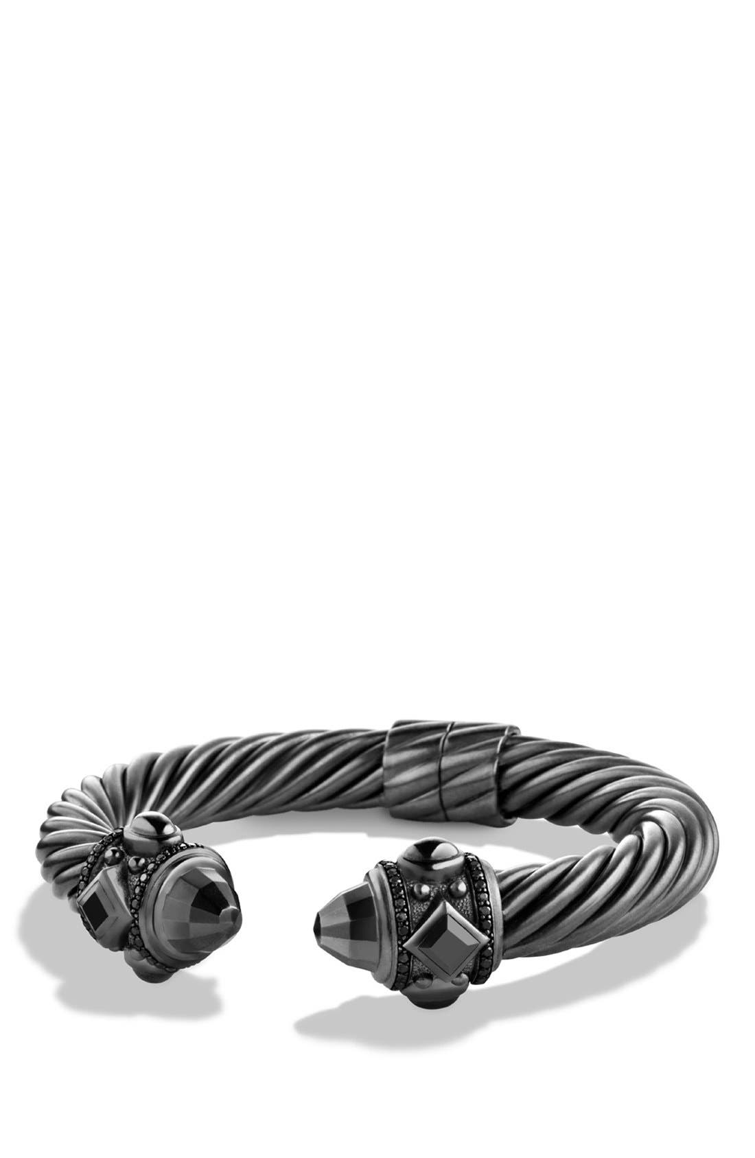 Renaissance Bracelet with Black Diamonds, 10mm,                             Main thumbnail 1, color,                             BLACK DIAMOND