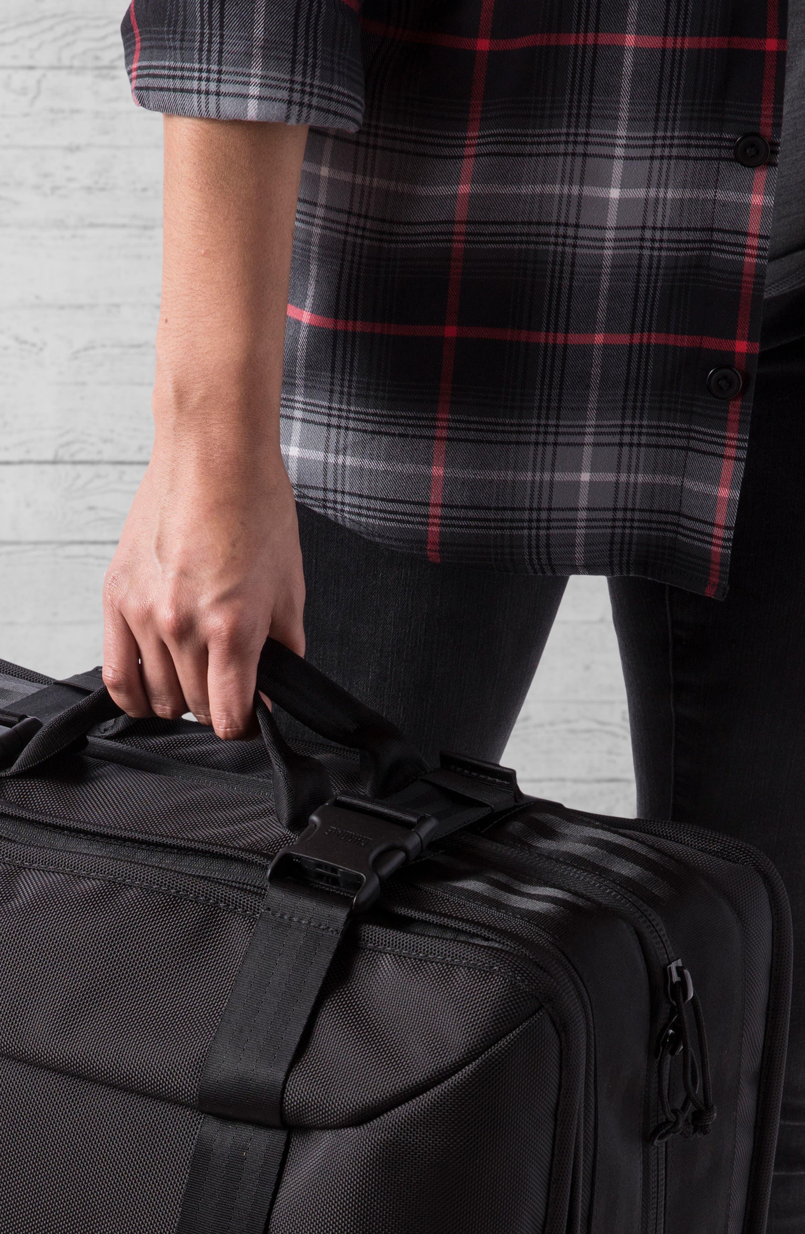 Macheto Travel Backpack,                             Alternate thumbnail 8, color,                             ALL BLACK