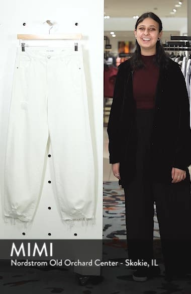 Hepburn High Waist Wide Leg Jeans, sales video thumbnail