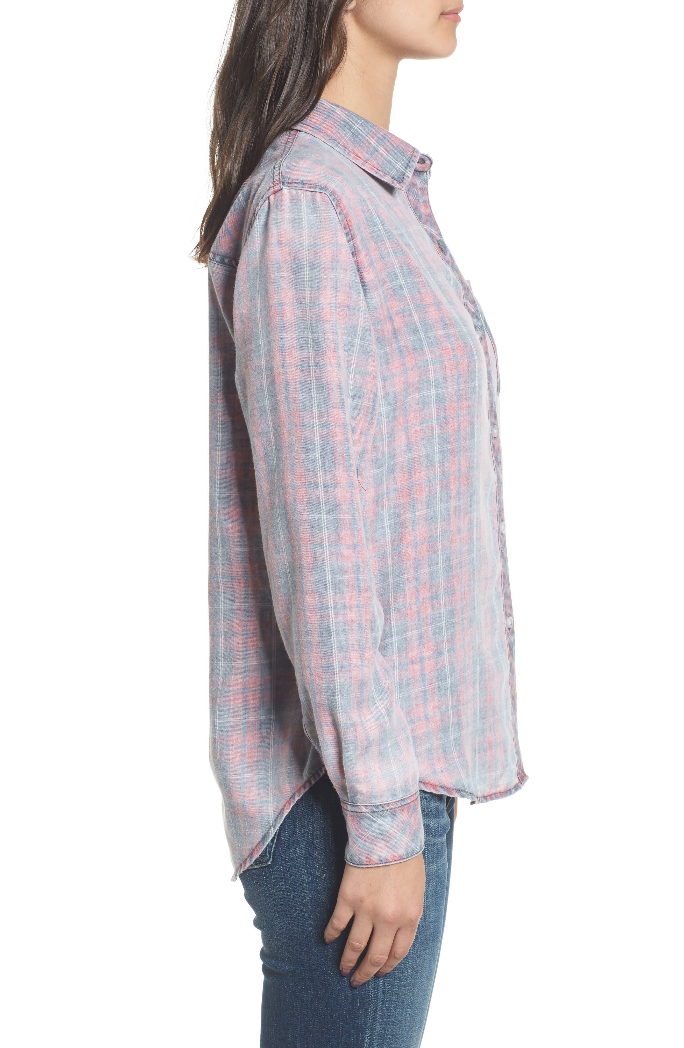 Hunter Plaid Shirt,                             Alternate thumbnail 296, color,
