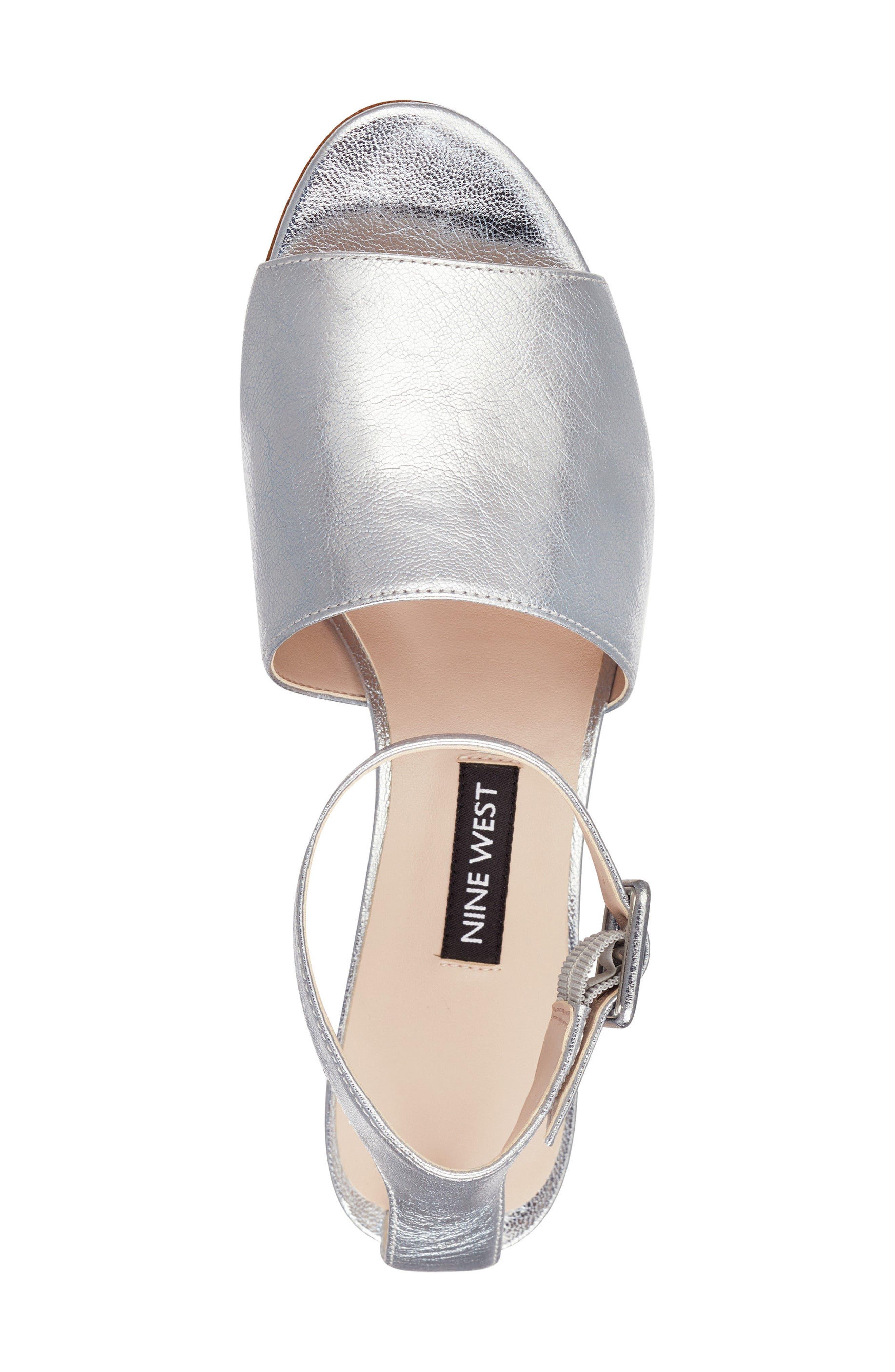 Enyo Clear Heel Sandal,                             Alternate thumbnail 10, color,
