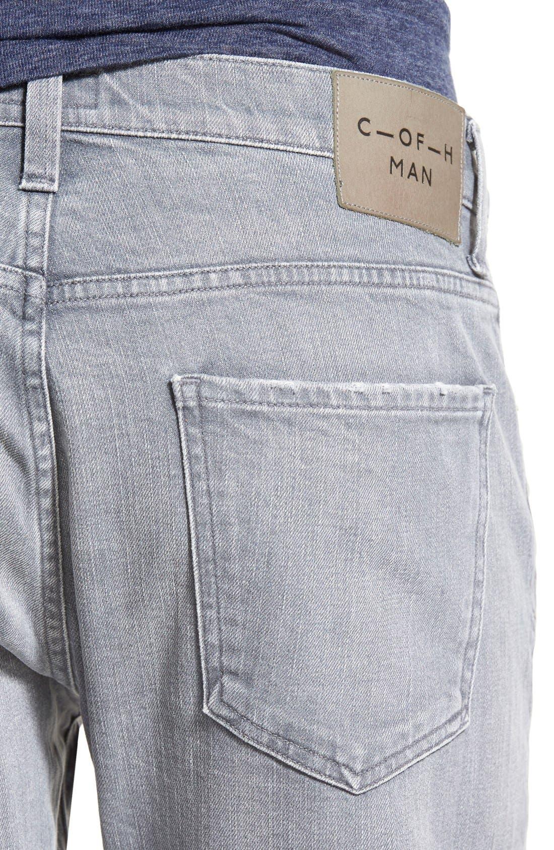'Gage' Slim Straight Leg Jeans,                             Alternate thumbnail 3, color,                             AKRON