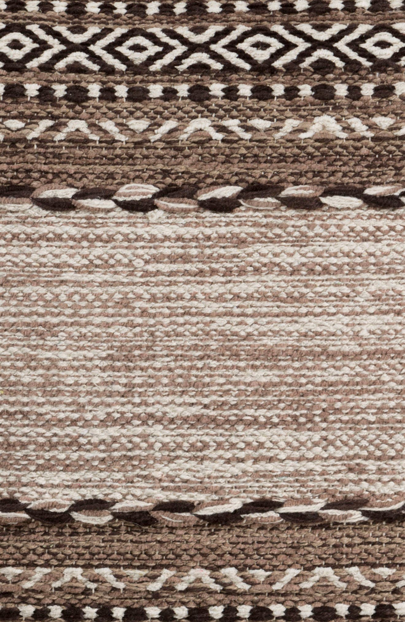 SURYA HOME,                             Trenza Pillow,                             Alternate thumbnail 2, color,                             CAMEL/ BROWN/ IVORY