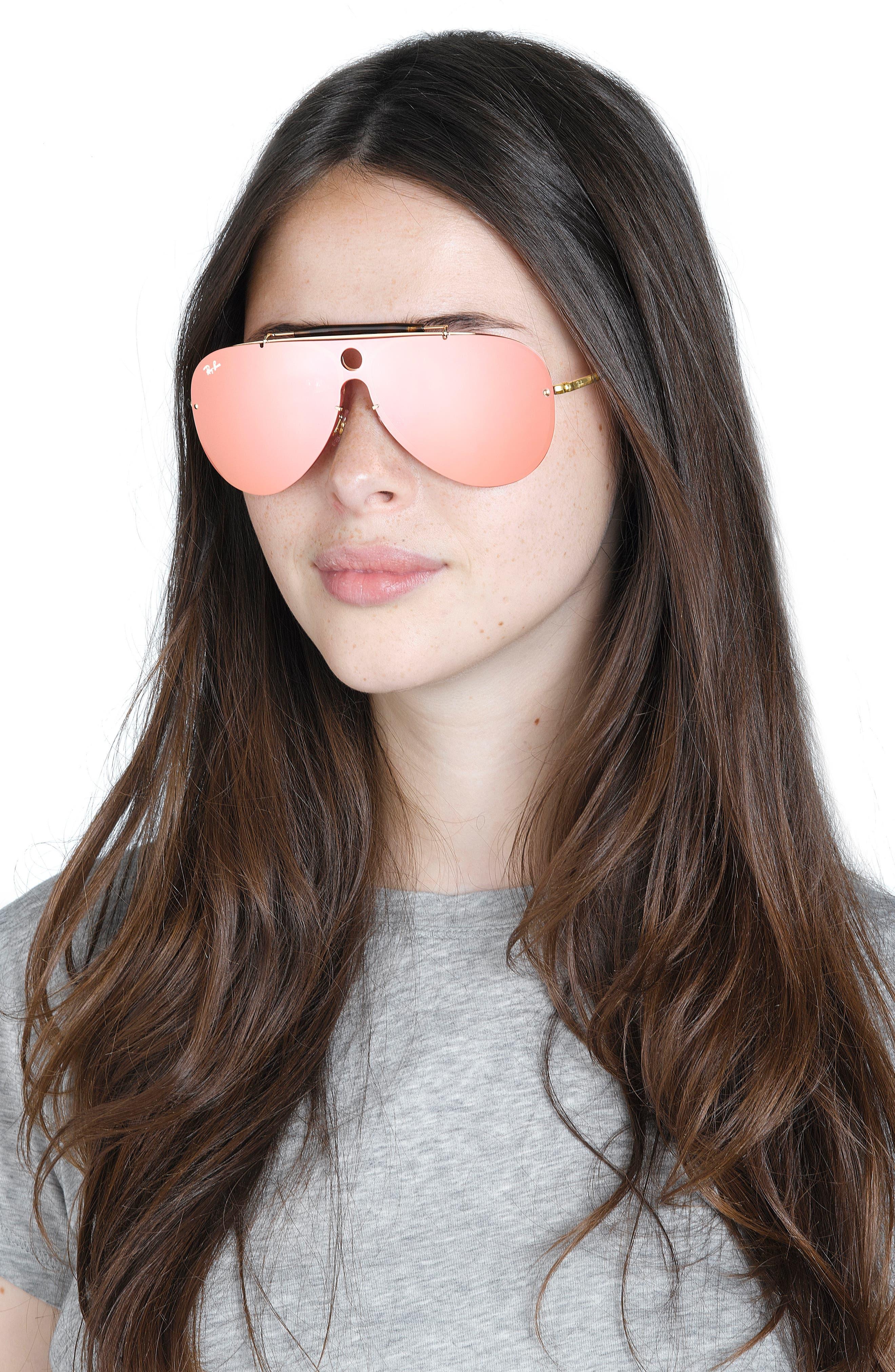 Aviator Shield Sunglasses,                             Alternate thumbnail 12, color,