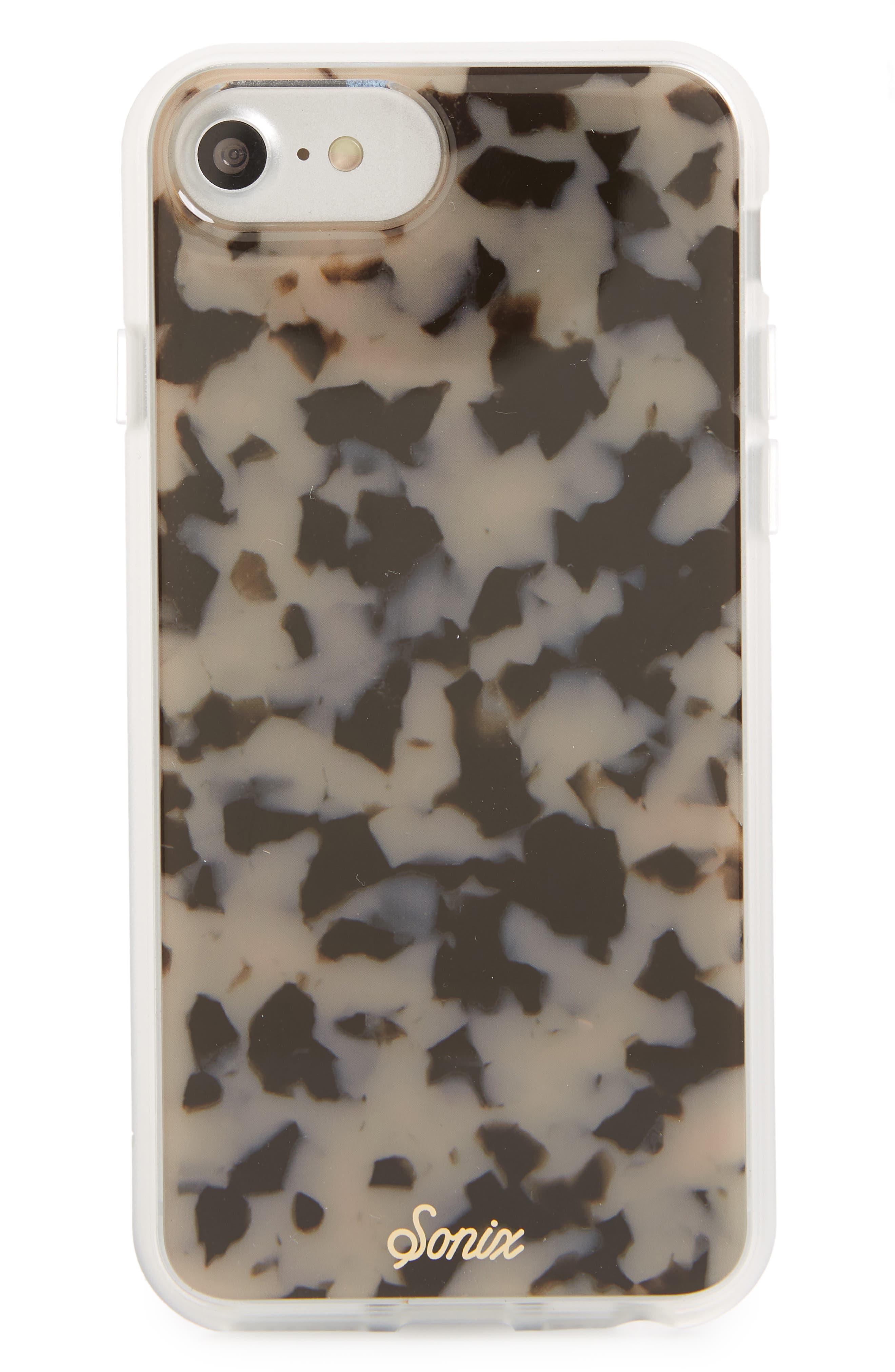 Milky Tortoise iPhone 6/6s/7/8 Case,                             Main thumbnail 2, color,