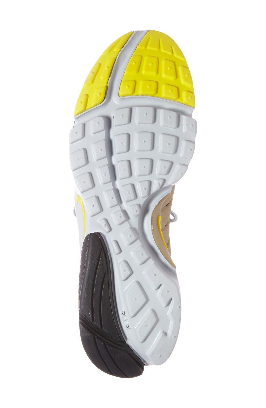 'Air Presto Flyknit Ultra' Sneaker,                             Alternate thumbnail 3, color,                             007