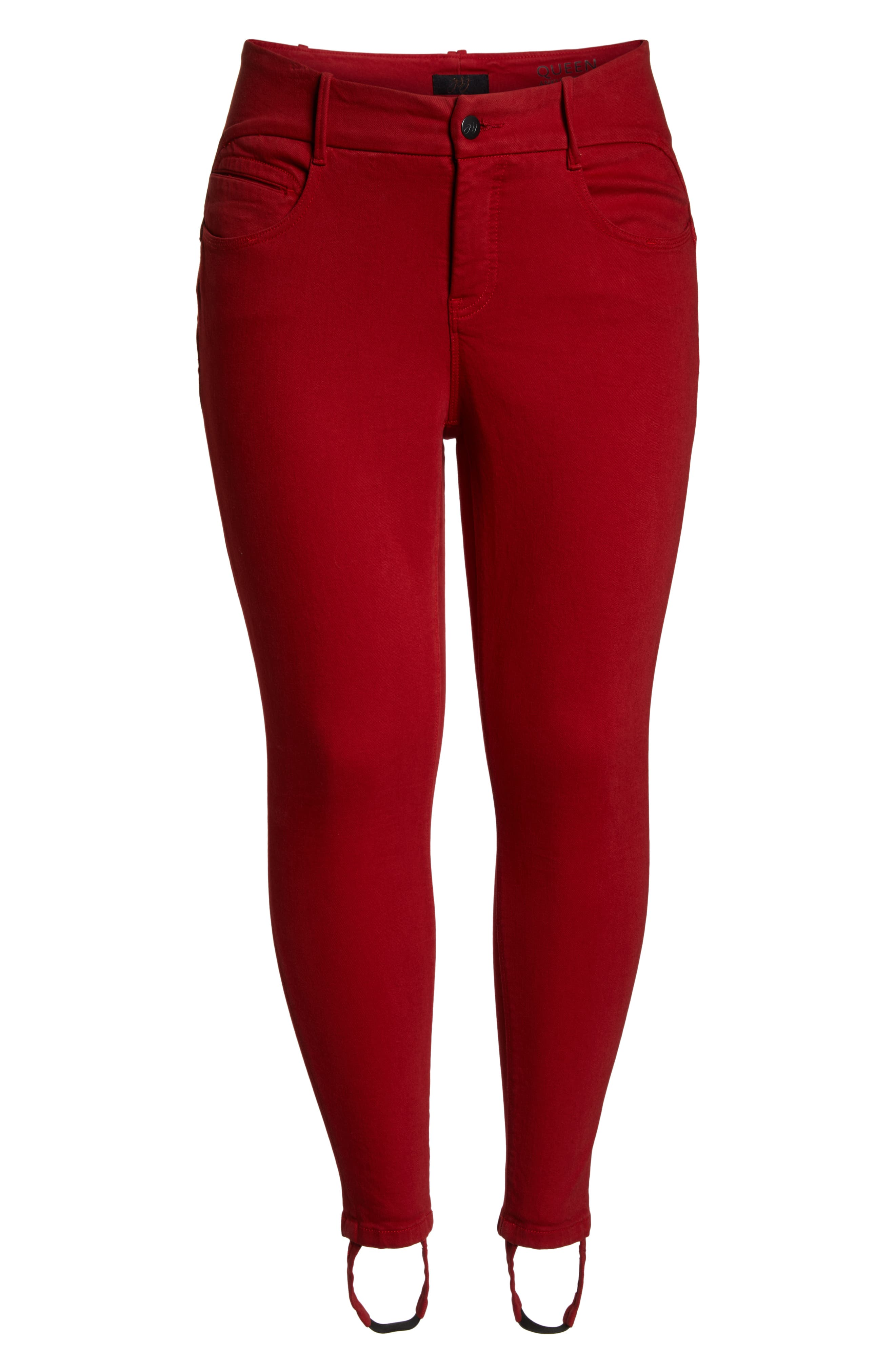 YSJ,                             Ankle Stirrup Skinny Jeans,                             Alternate thumbnail 7, color,                             FIRE ENGINE WASH