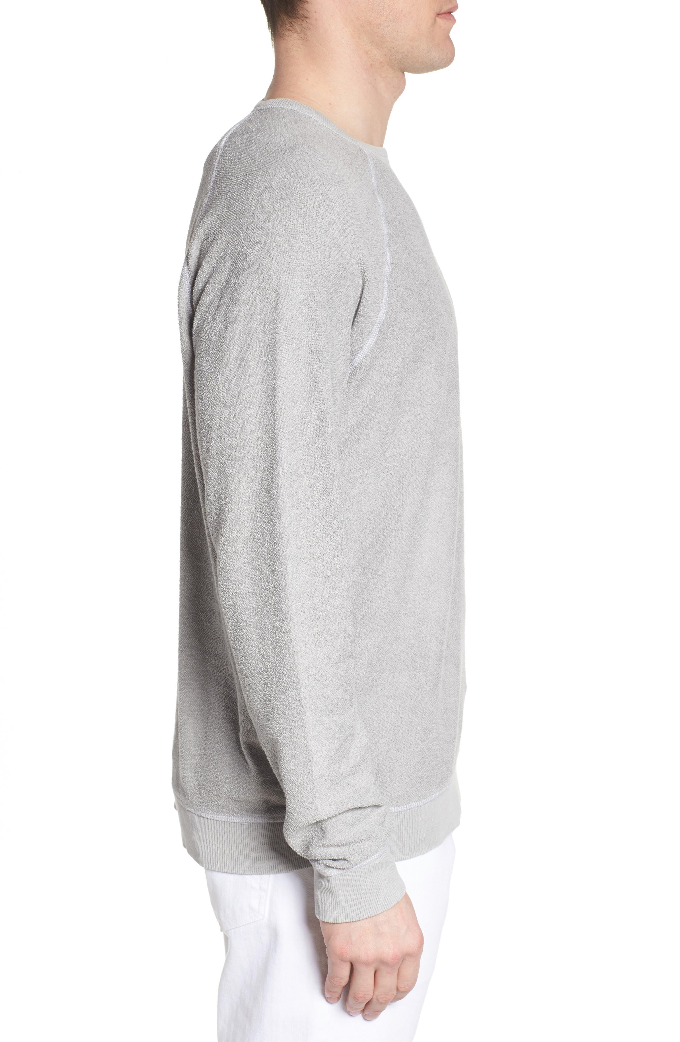 JOHNNIE-O,                             Mason Regular Fit Sweatshirt,                             Alternate thumbnail 3, color,                             053