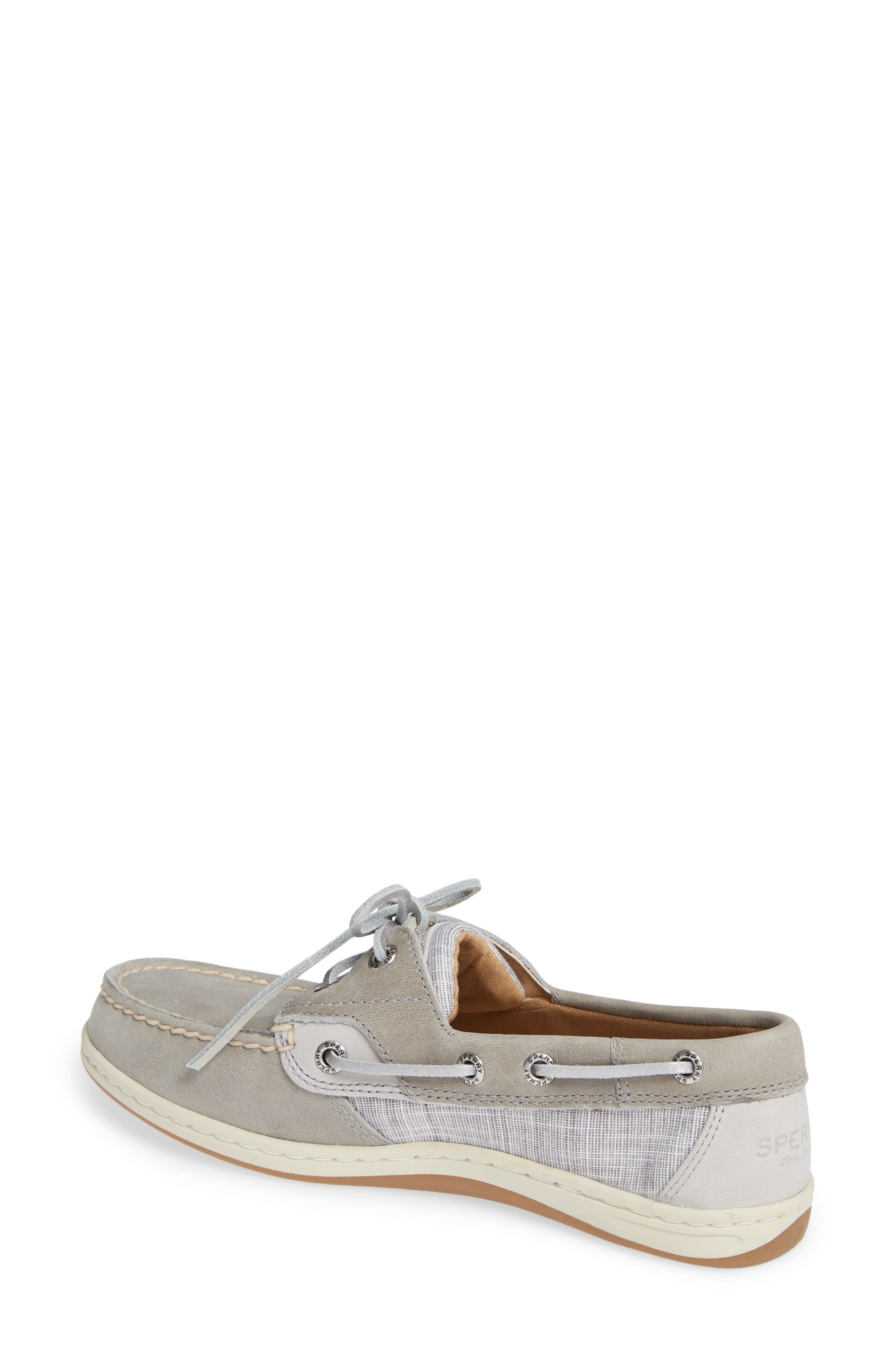 Top-Sider Koifish Loafer,                             Alternate thumbnail 2, color,                             GREY LEATHER