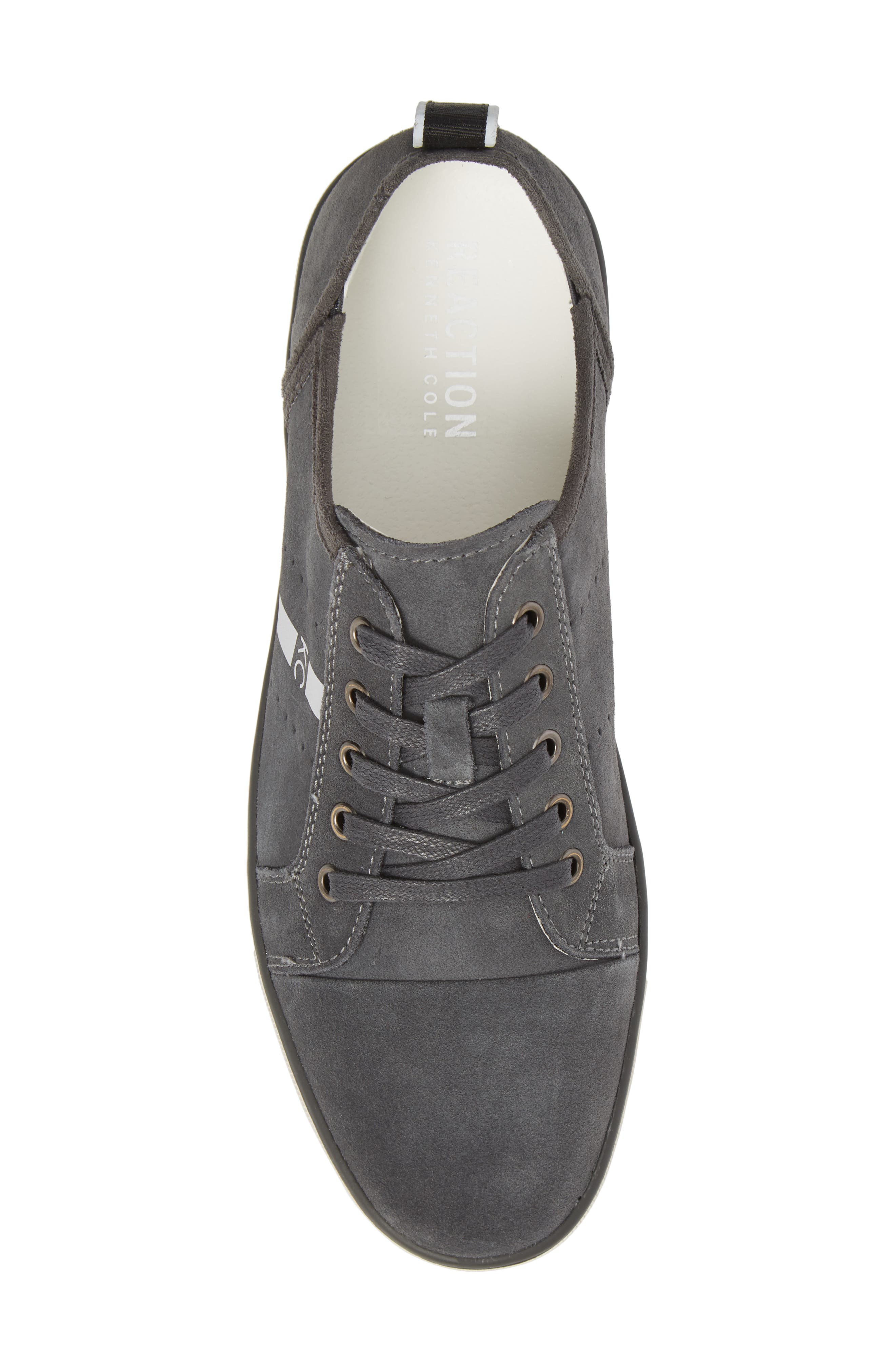 Center Low Sneaker,                             Alternate thumbnail 5, color,                             GREY