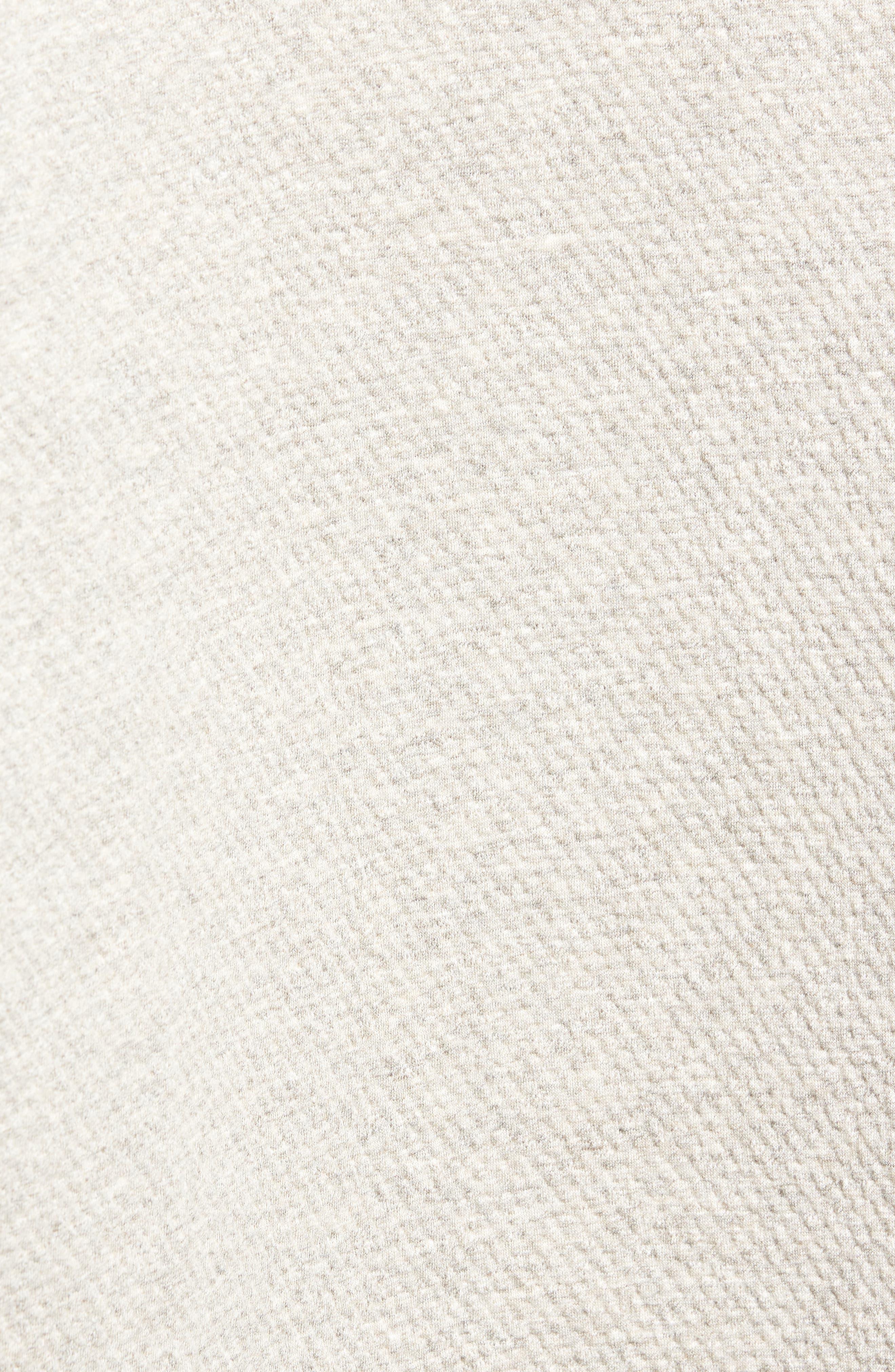 Cabin Fleece Sweatshirt,                             Alternate thumbnail 5, color,                             CONCRETE