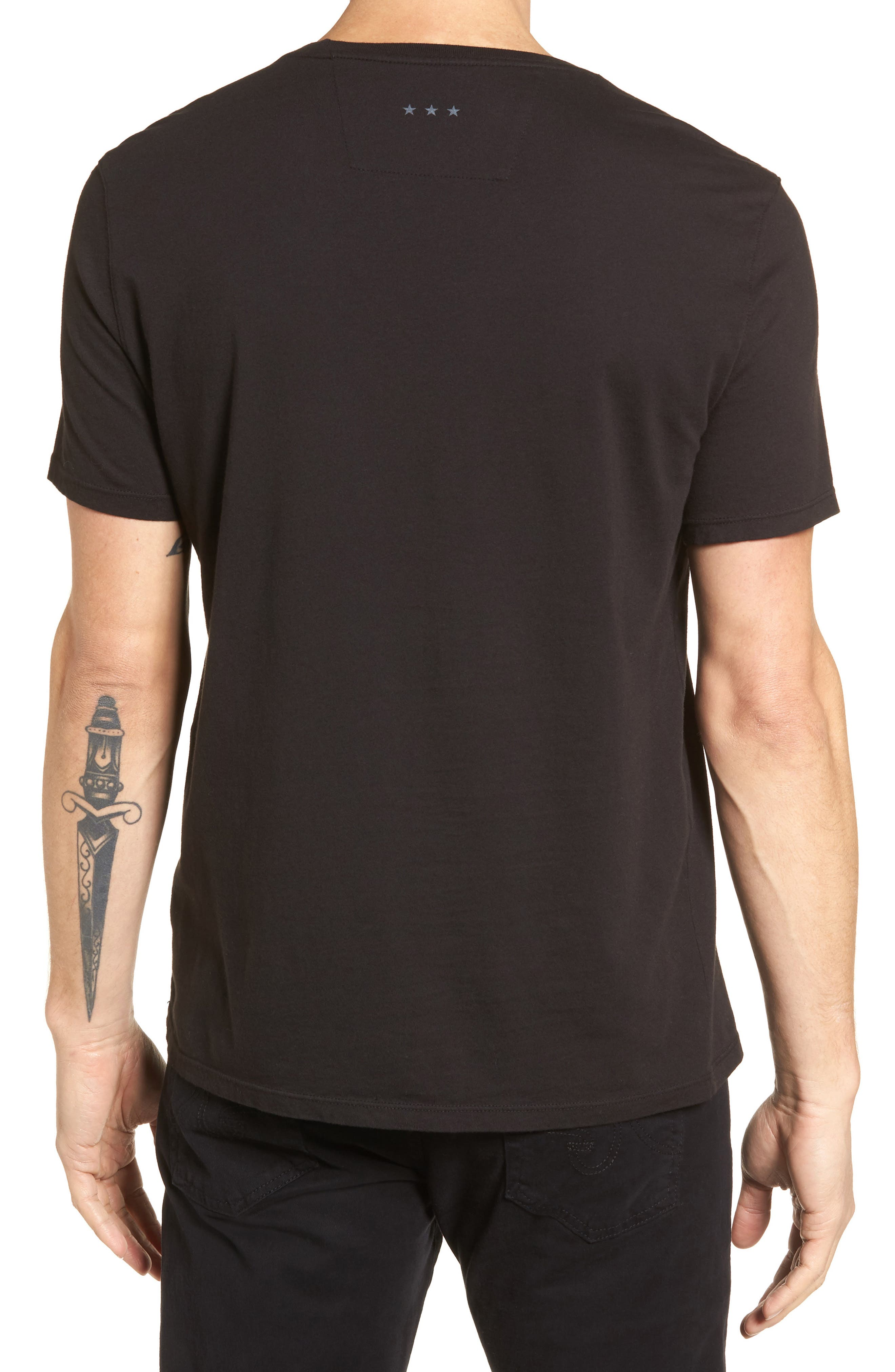 Playboy Rows Graphic T-Shirt,                             Alternate thumbnail 2, color,                             001