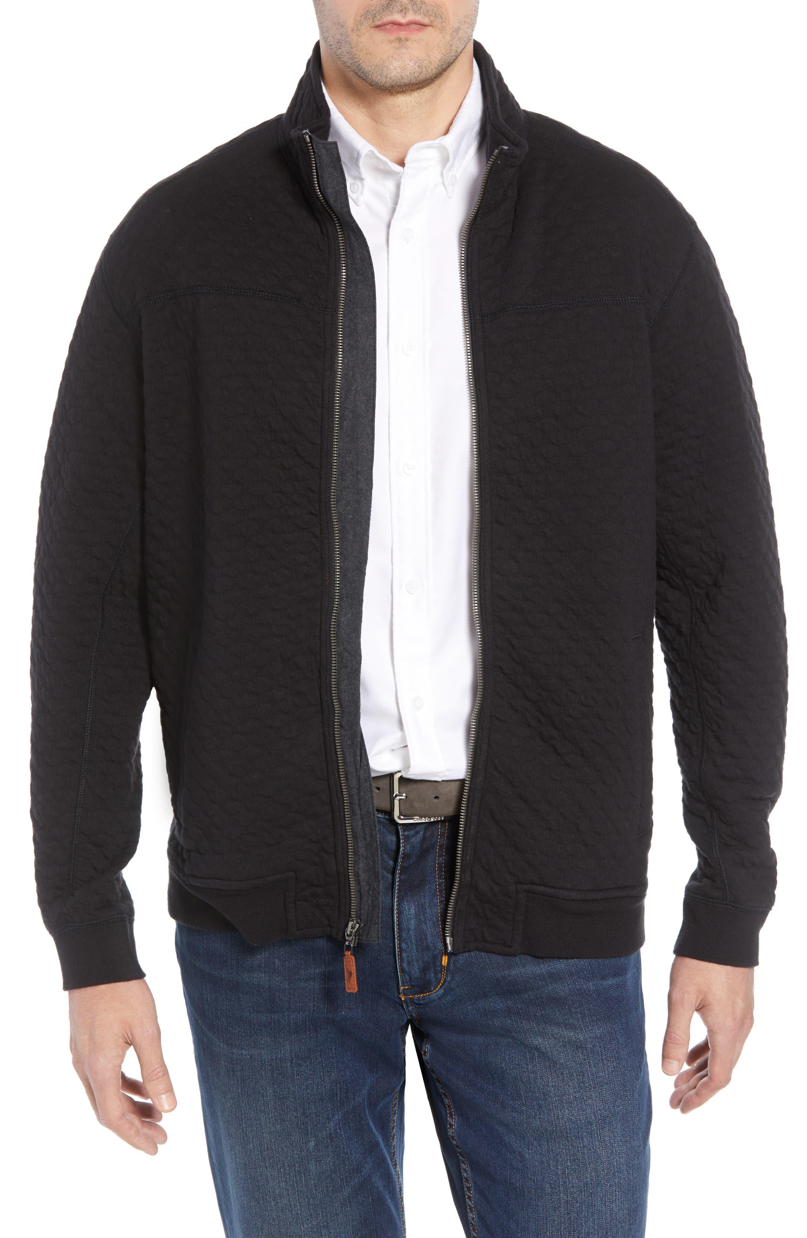 Quilt Trip Jacket,                         Main,                         color, BLACK