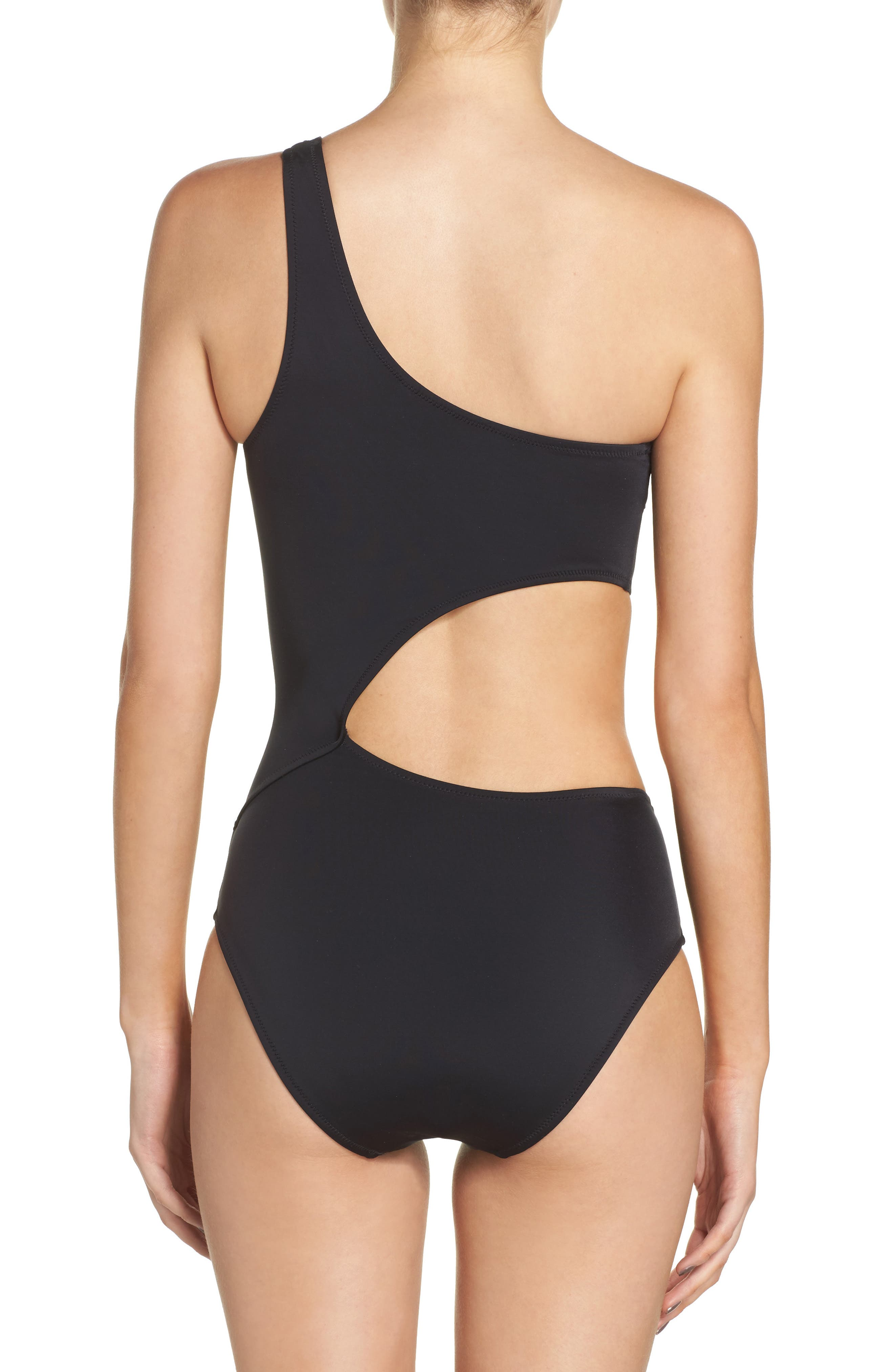 Claudia One-Piece Swimsuit,                             Alternate thumbnail 2, color,                             001